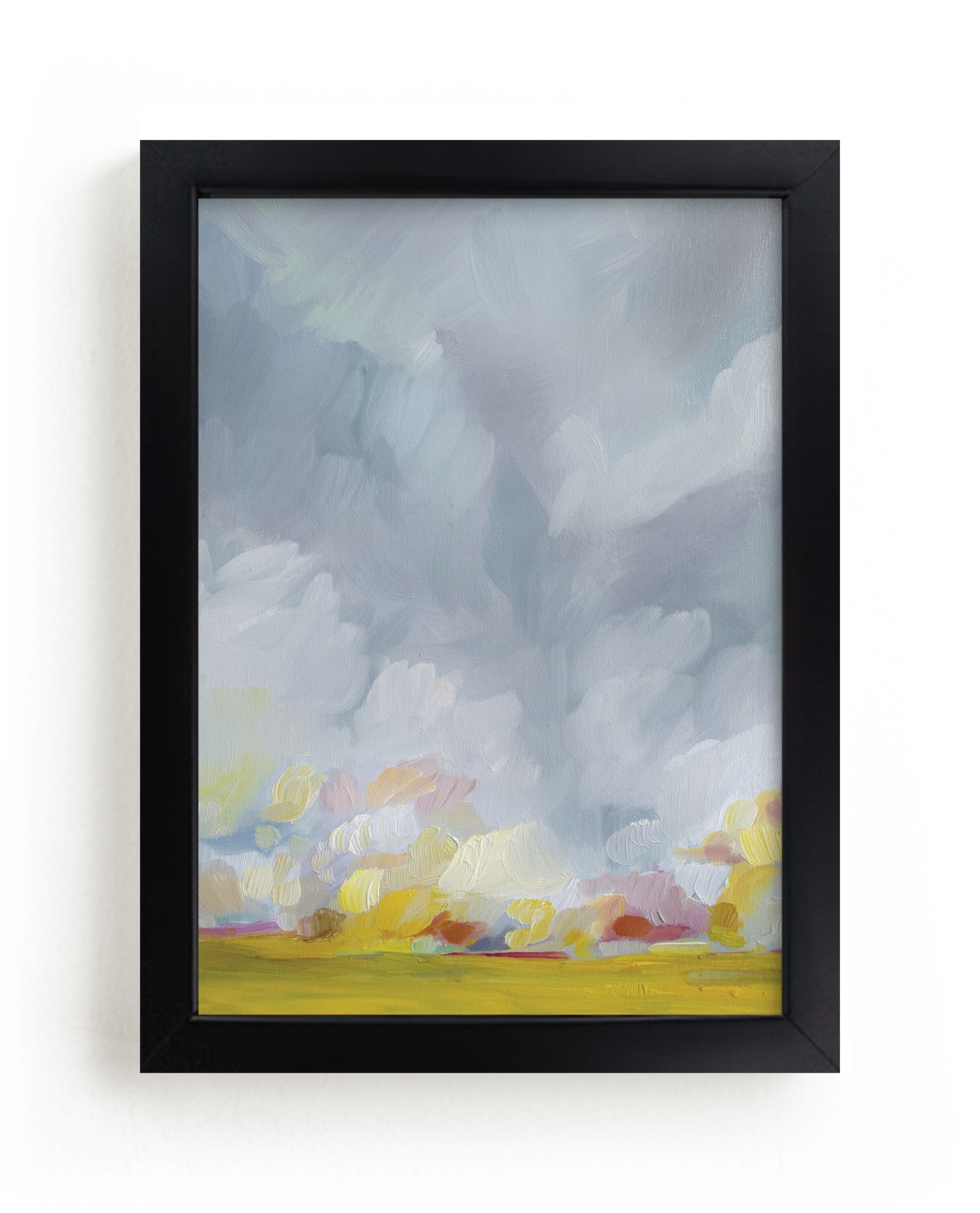 """""""Grace in the Winds"""" - Limited Edition Art Print by Emily Jeffords in beautiful frame options and a variety of sizes."""