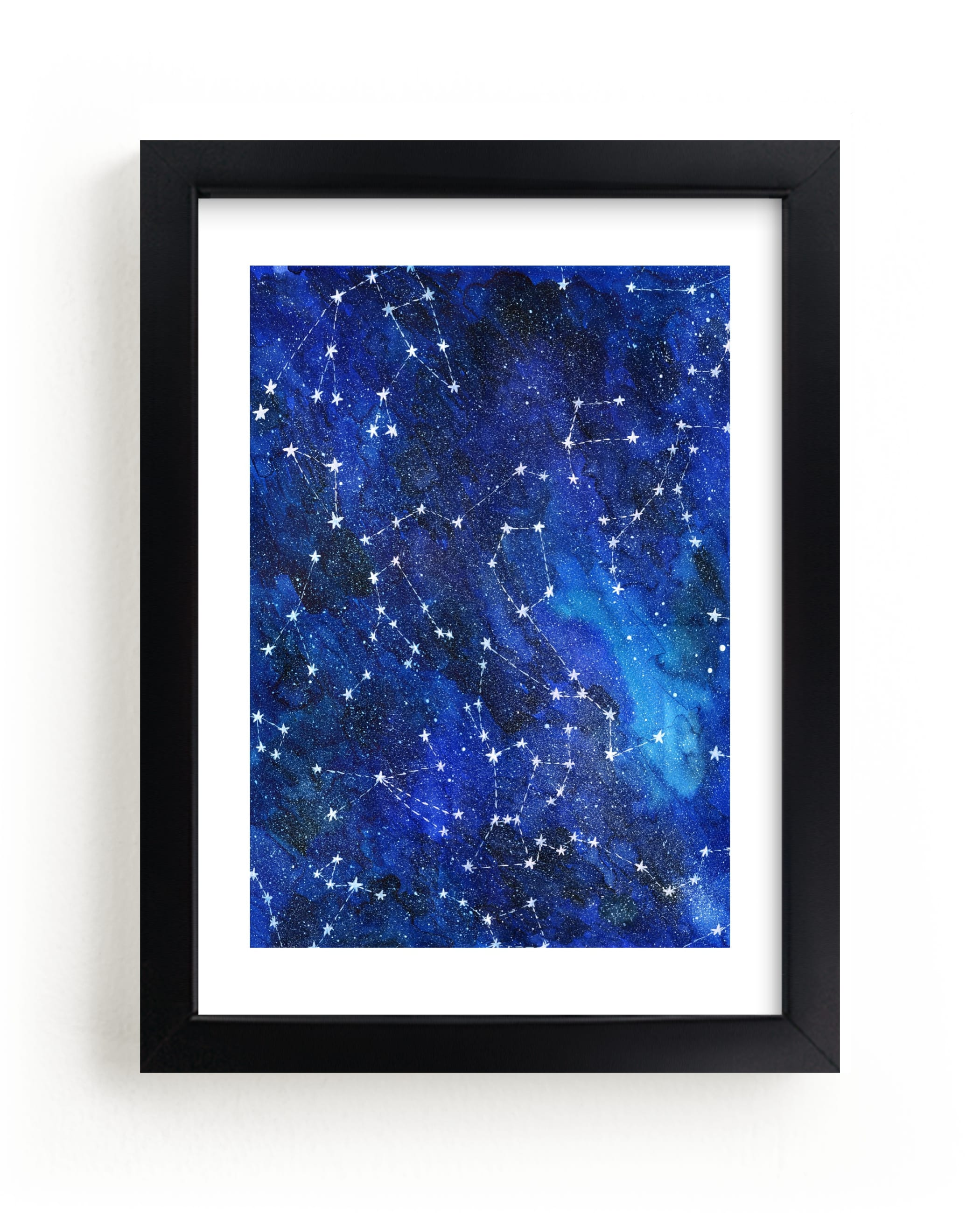 """Constellations"" - Limited Edition Art Print by Alexandra Dzh in beautiful frame options and a variety of sizes."