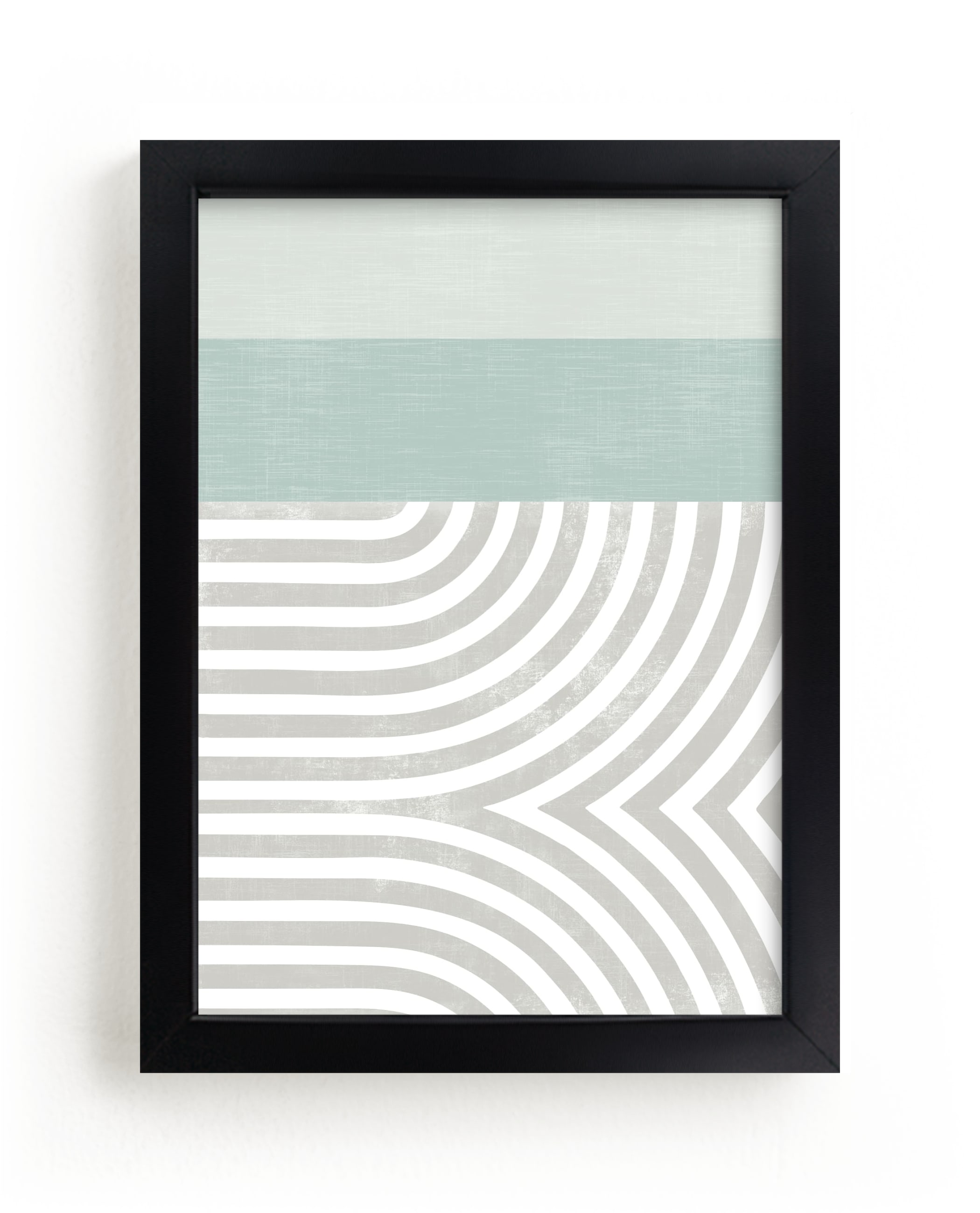 """""""Curve Appeal VI"""" - Limited Edition Art Print by Tanya Lee Design in beautiful frame options and a variety of sizes."""