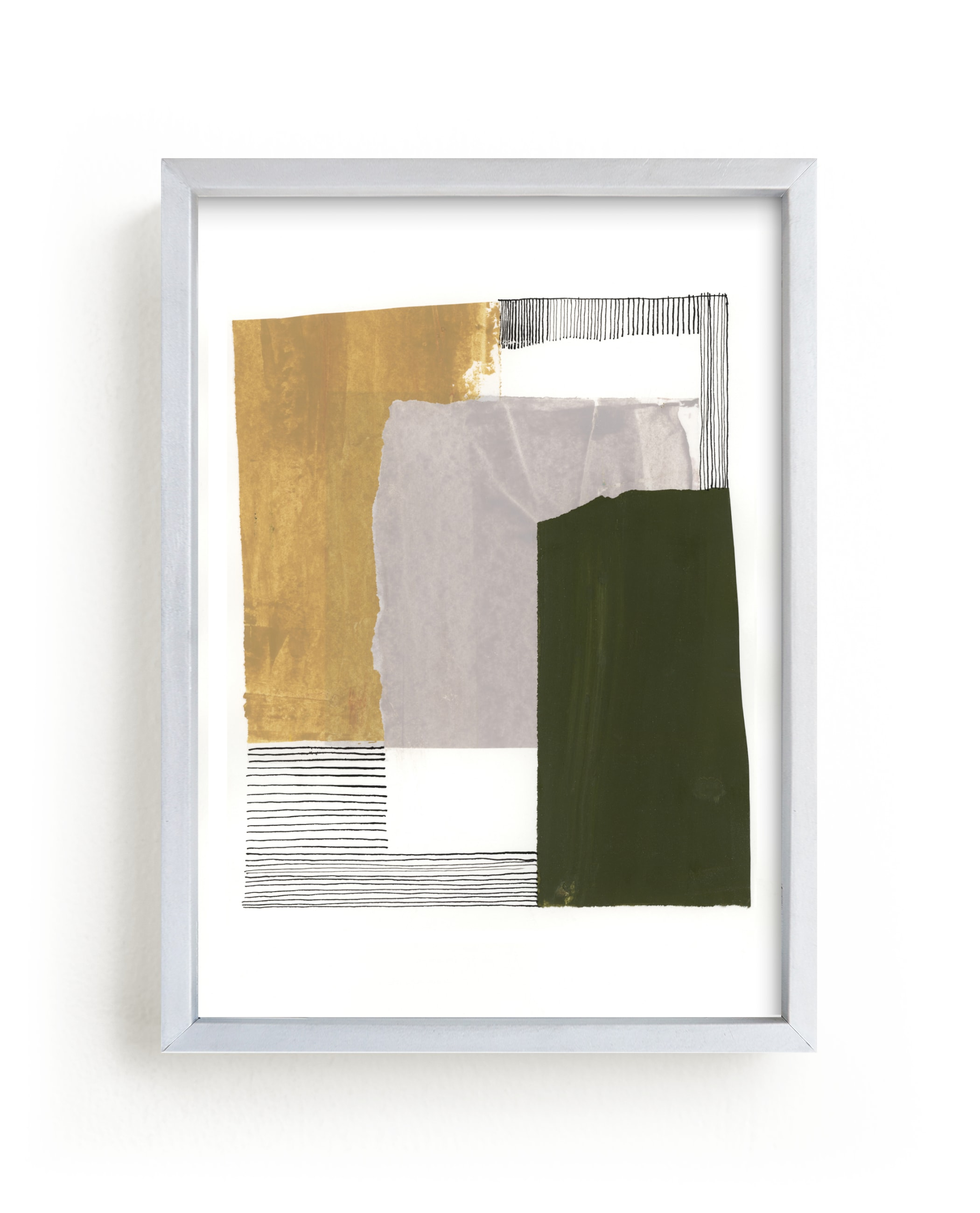 """""""Urban Block 2"""" - Limited Edition Art Print by Bethania Lima in beautiful frame options and a variety of sizes."""