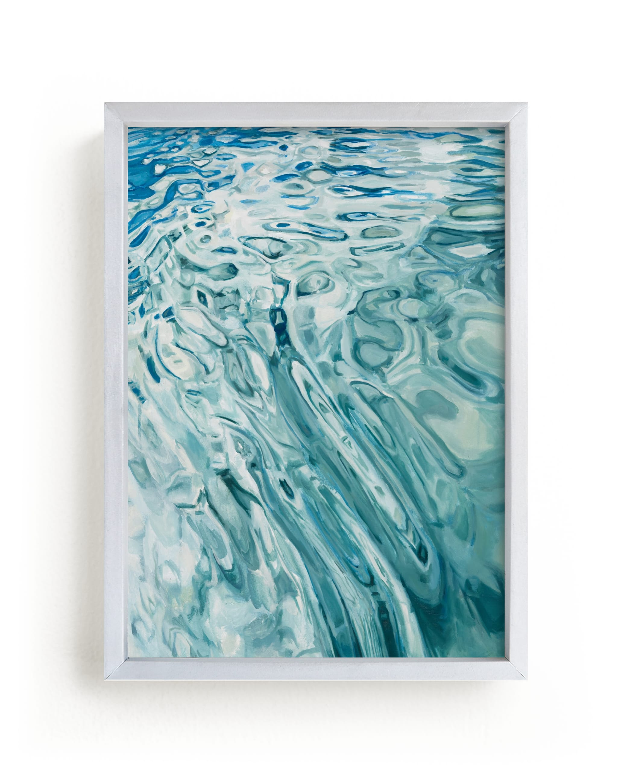 """""""Slip"""" - Limited Edition Art Print by Kelly Johnston in beautiful frame options and a variety of sizes."""