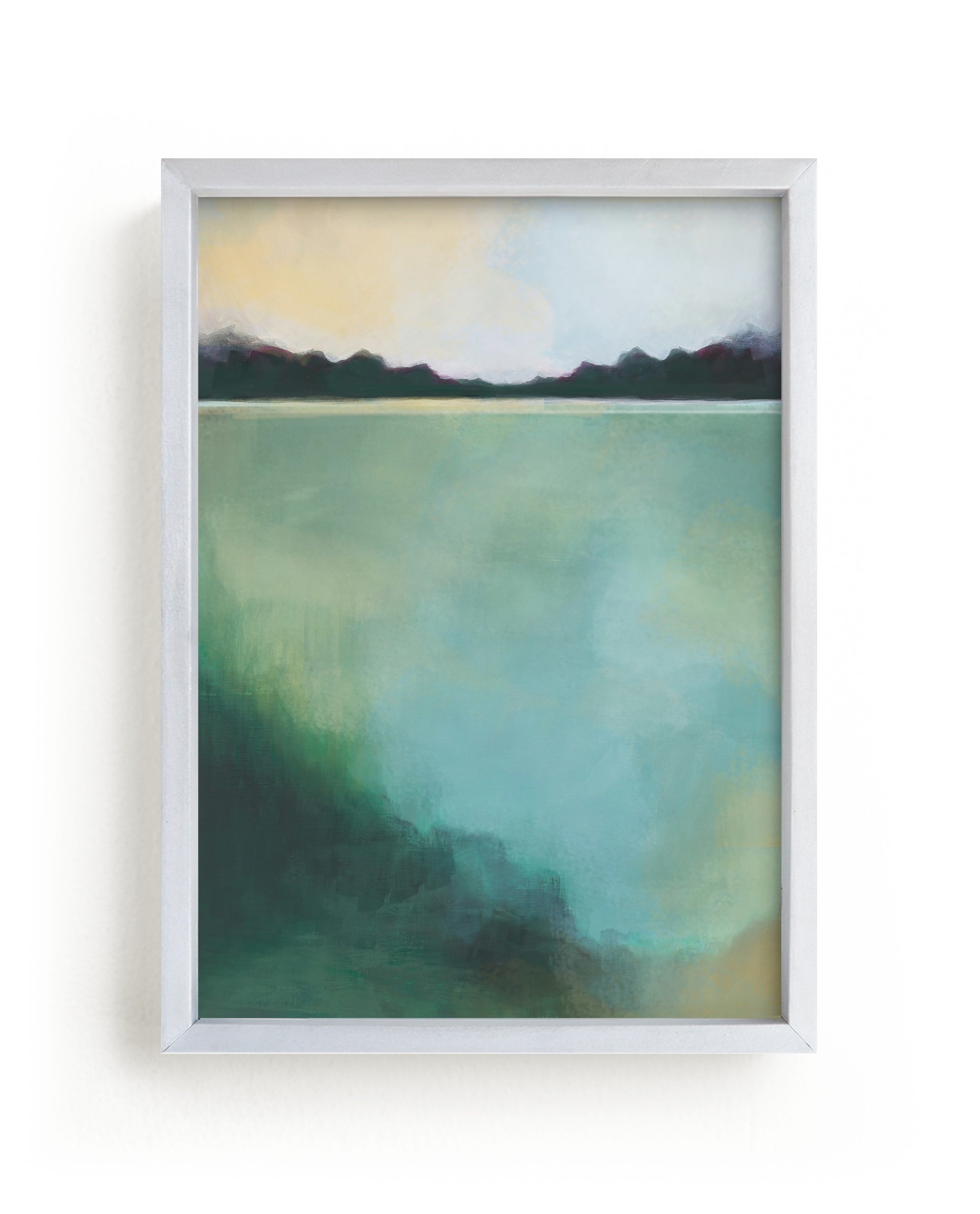 """""""Whispering Pines"""" - Limited Edition Art Print by Alison Jerry Designs in beautiful frame options and a variety of sizes."""