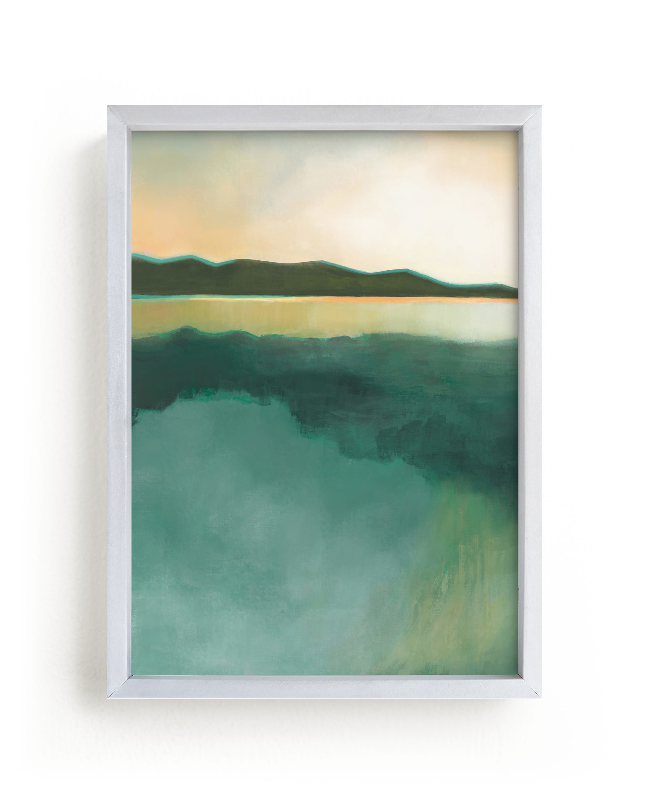 """""""Tranquil Harbor"""" - Limited Edition Art Print by Alison Jerry Designs in beautiful frame options and a variety of sizes."""