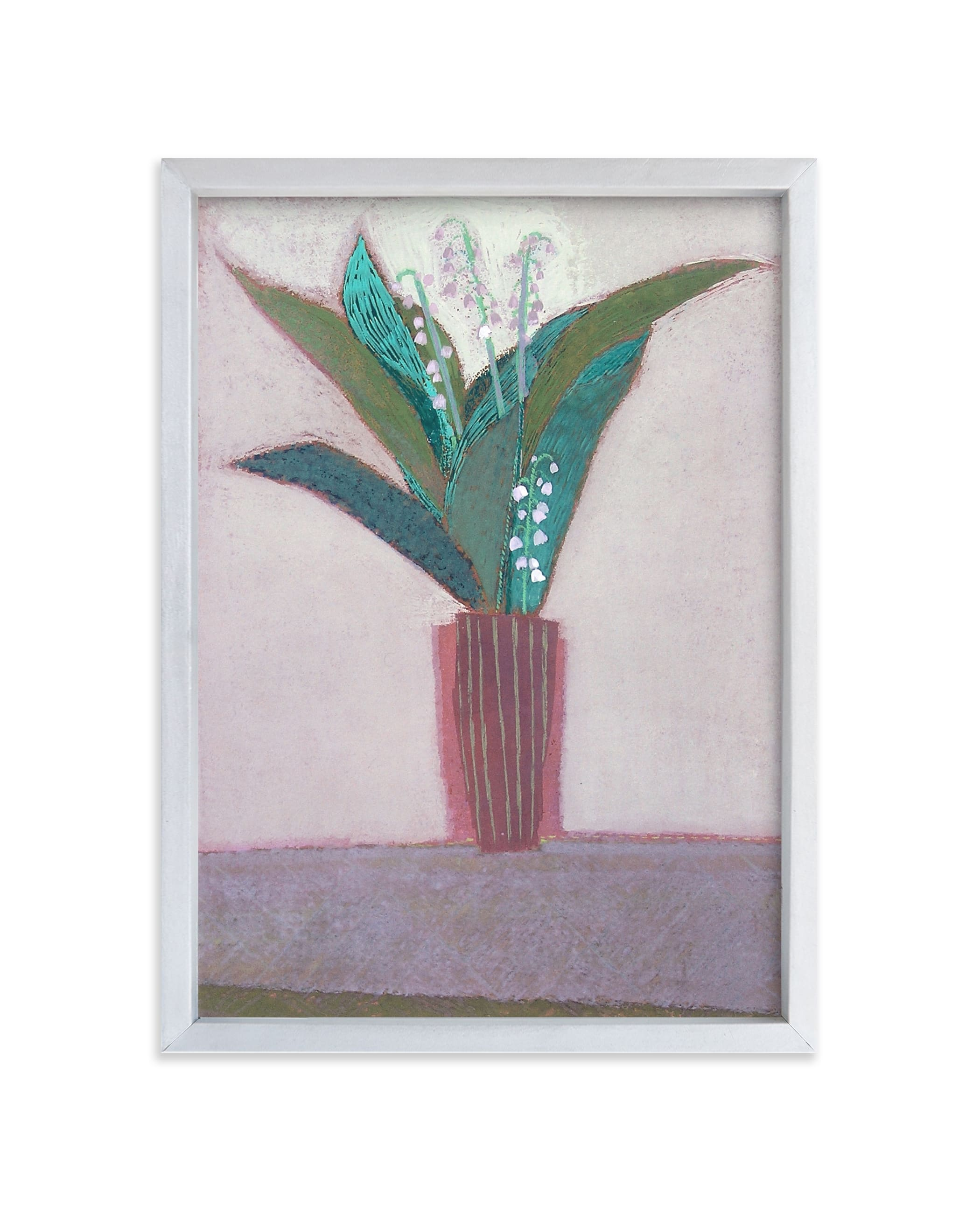 """""""lily of the valley"""" - Limited Edition Art Print by Liz Innvar in beautiful frame options and a variety of sizes."""
