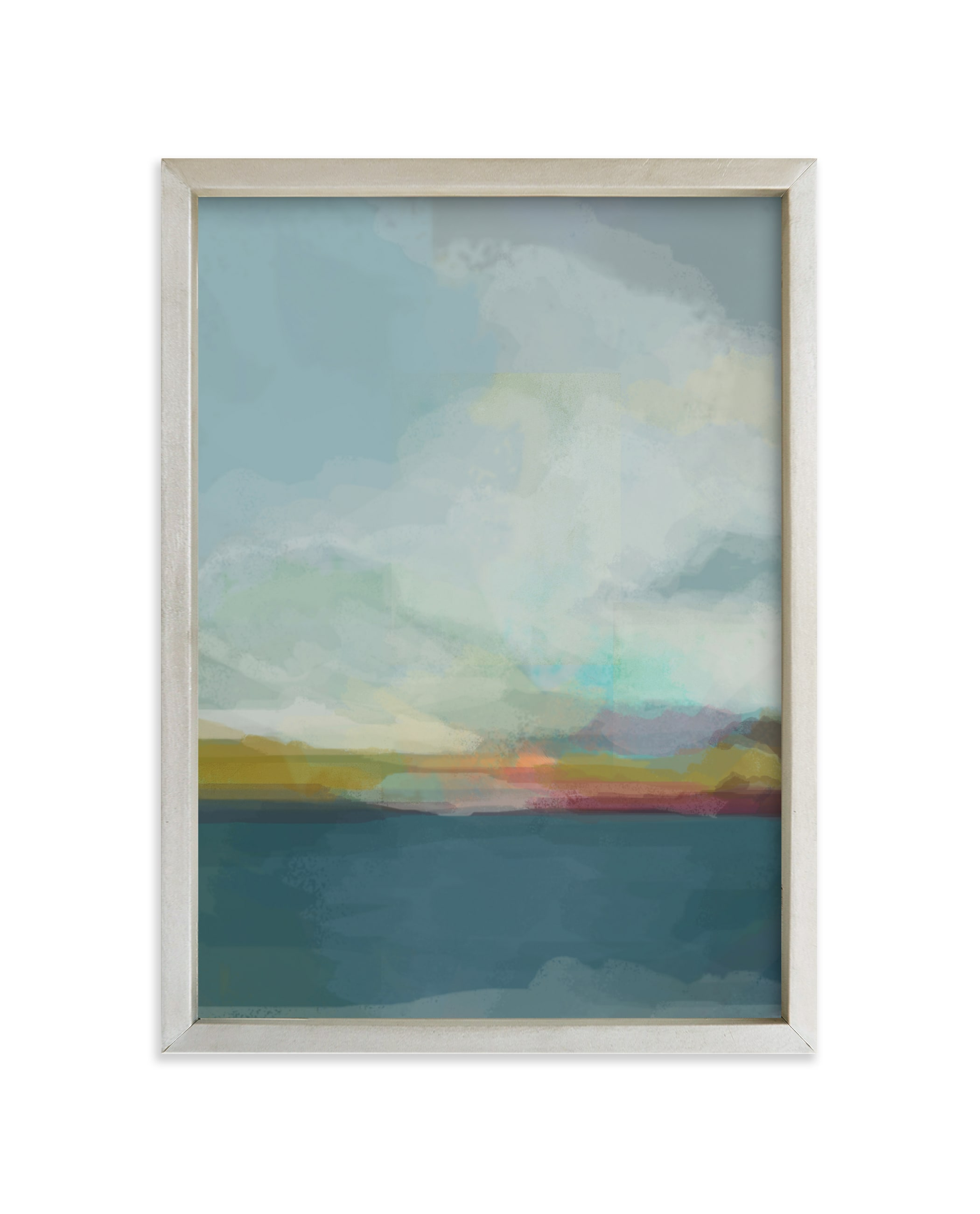 """Morning Walk"" - Limited Edition Art Print by Alison Jerry Designs in beautiful frame options and a variety of sizes."