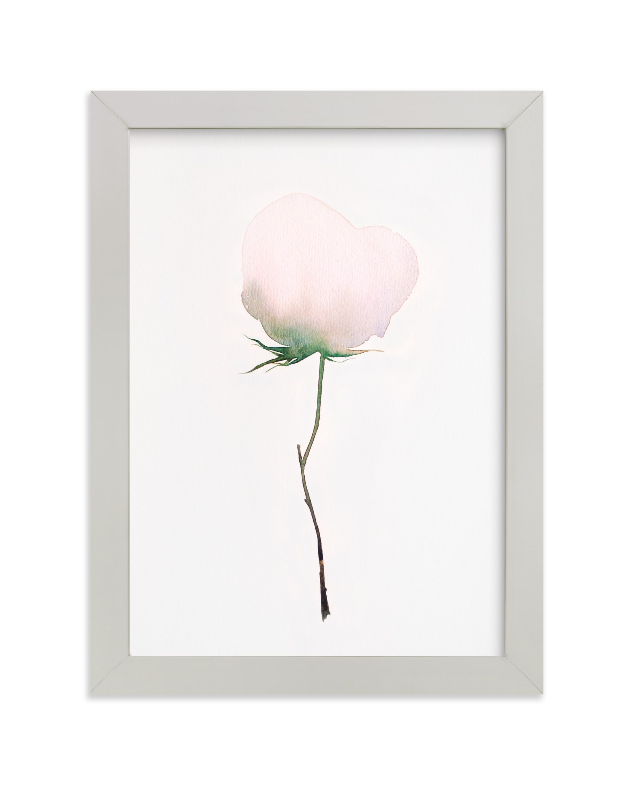 """""""Budding Peony"""" - Limited Edition Art Print by jinseikou in beautiful frame options and a variety of sizes."""