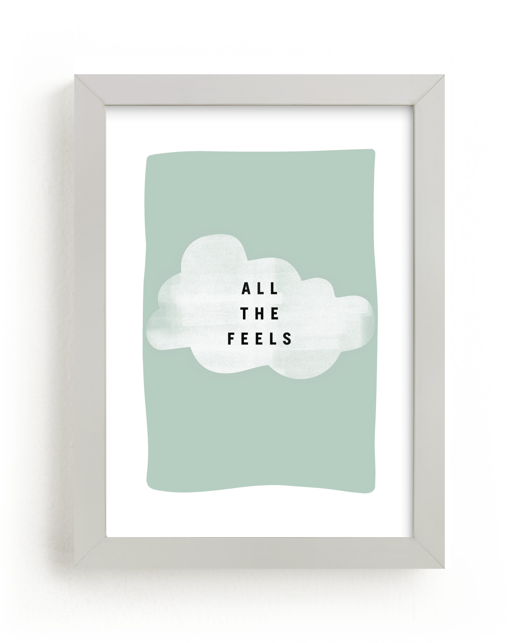 """all the feels"" - Limited Edition Art Print by Lindsay Stetson Thompson in beautiful frame options and a variety of sizes."