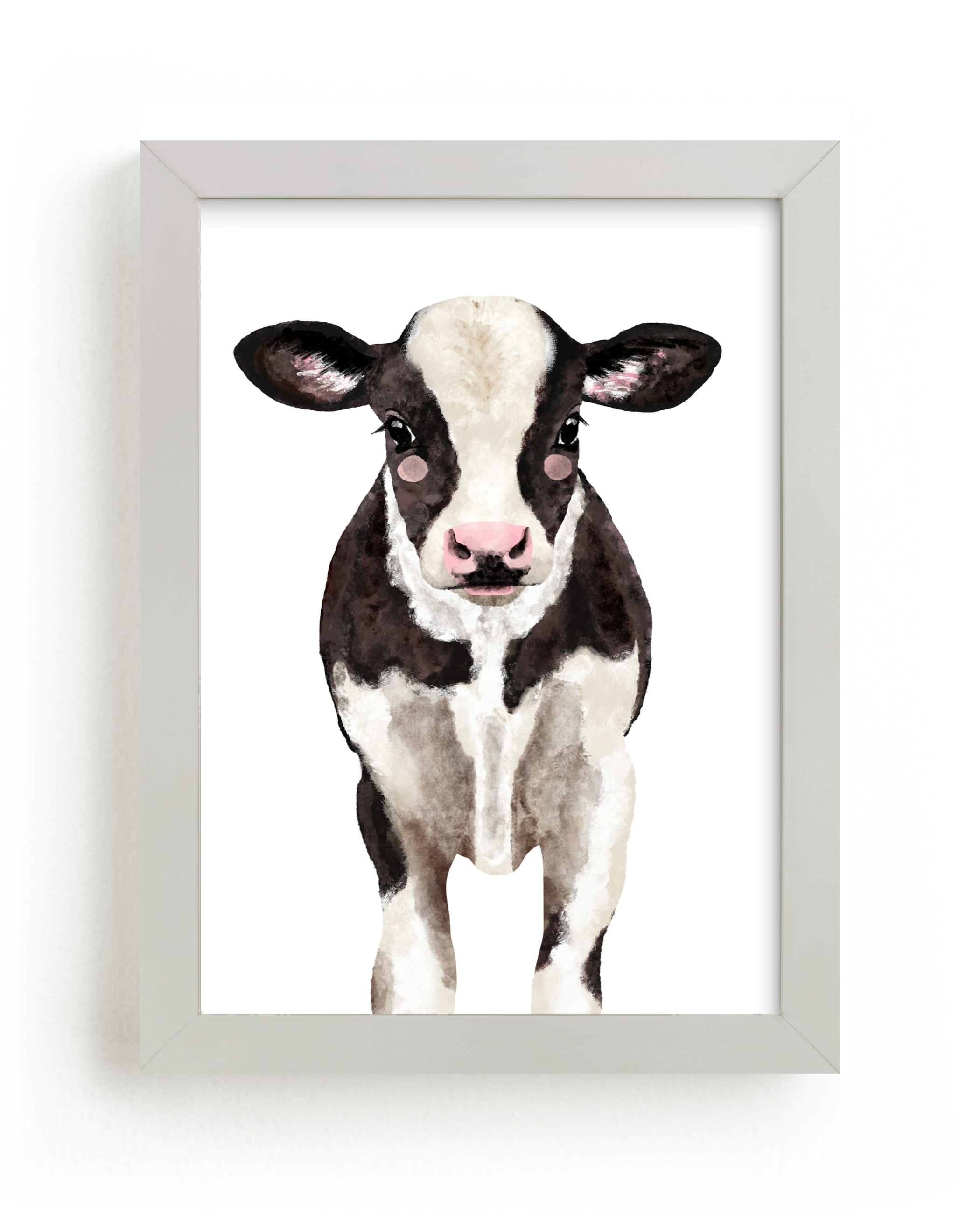"""""""Baby Animal Ox"""" by Cass Loh in beautiful frame options and a variety of sizes."""