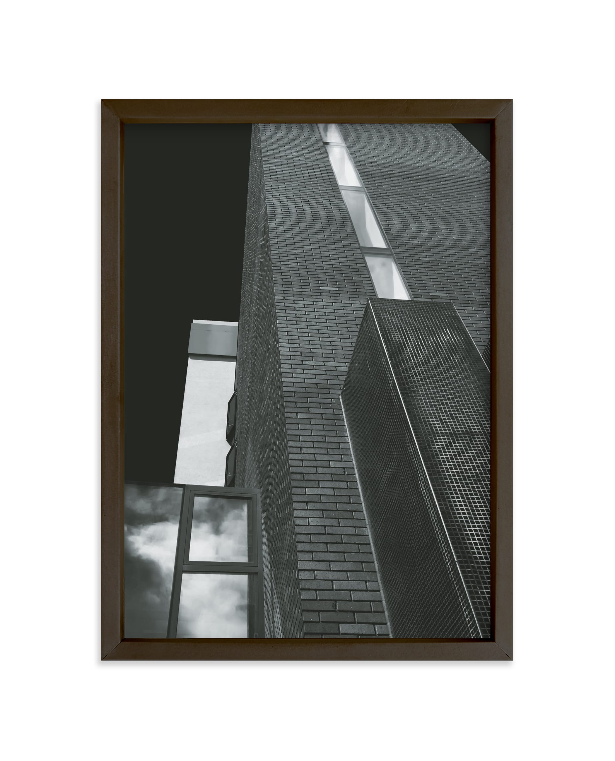 """""""Layered Architecture"""" - Limited Edition Art Print by Rebecca Humphreys in beautiful frame options and a variety of sizes."""