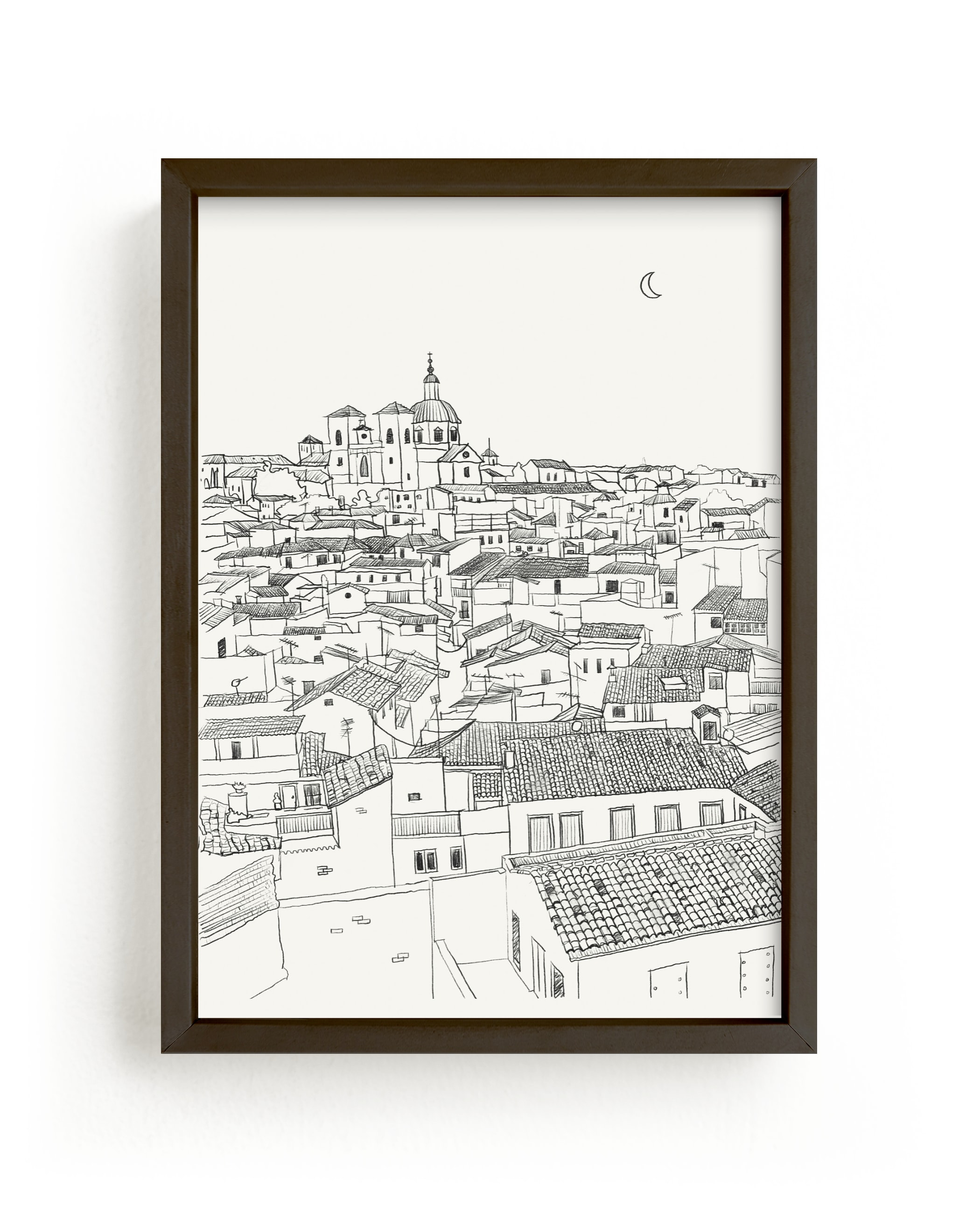 """""""Toledo"""" - Limited Edition Art Print by Adelyn T. in beautiful frame options and a variety of sizes."""