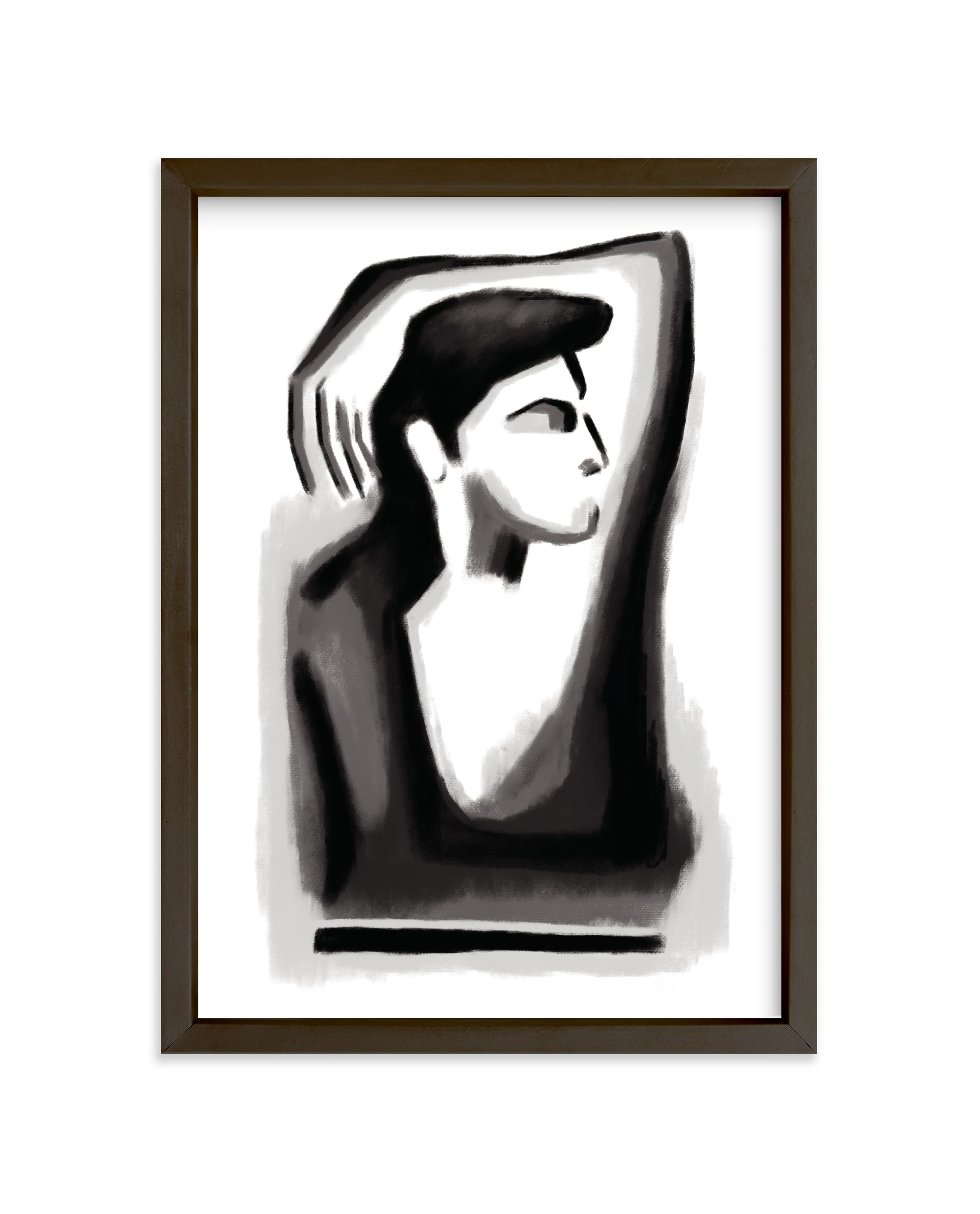 """Contemplation"" - Limited Edition Art Print by Mansi Verma in beautiful frame options and a variety of sizes."