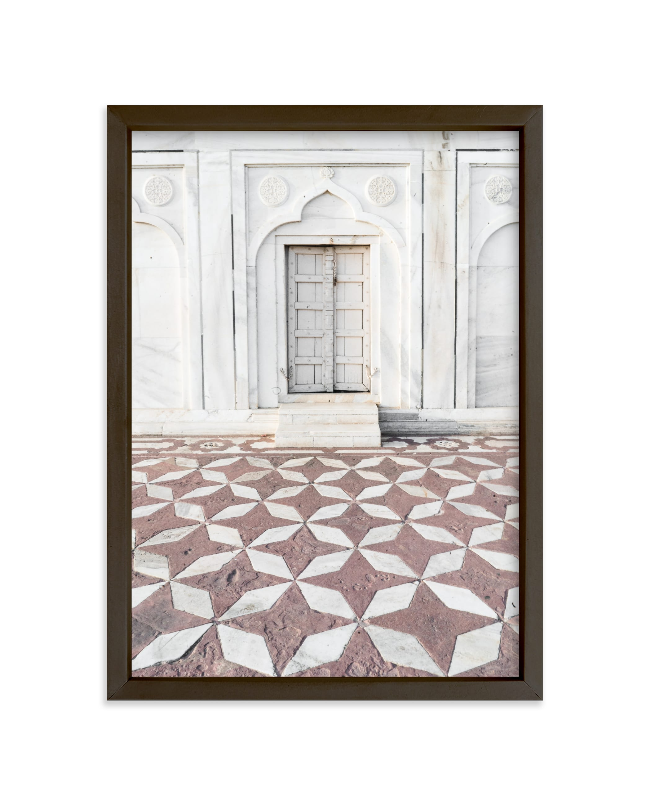 """Palace Walk 1"" - Limited Edition Art Print by Kamala Nahas in beautiful frame options and a variety of sizes."