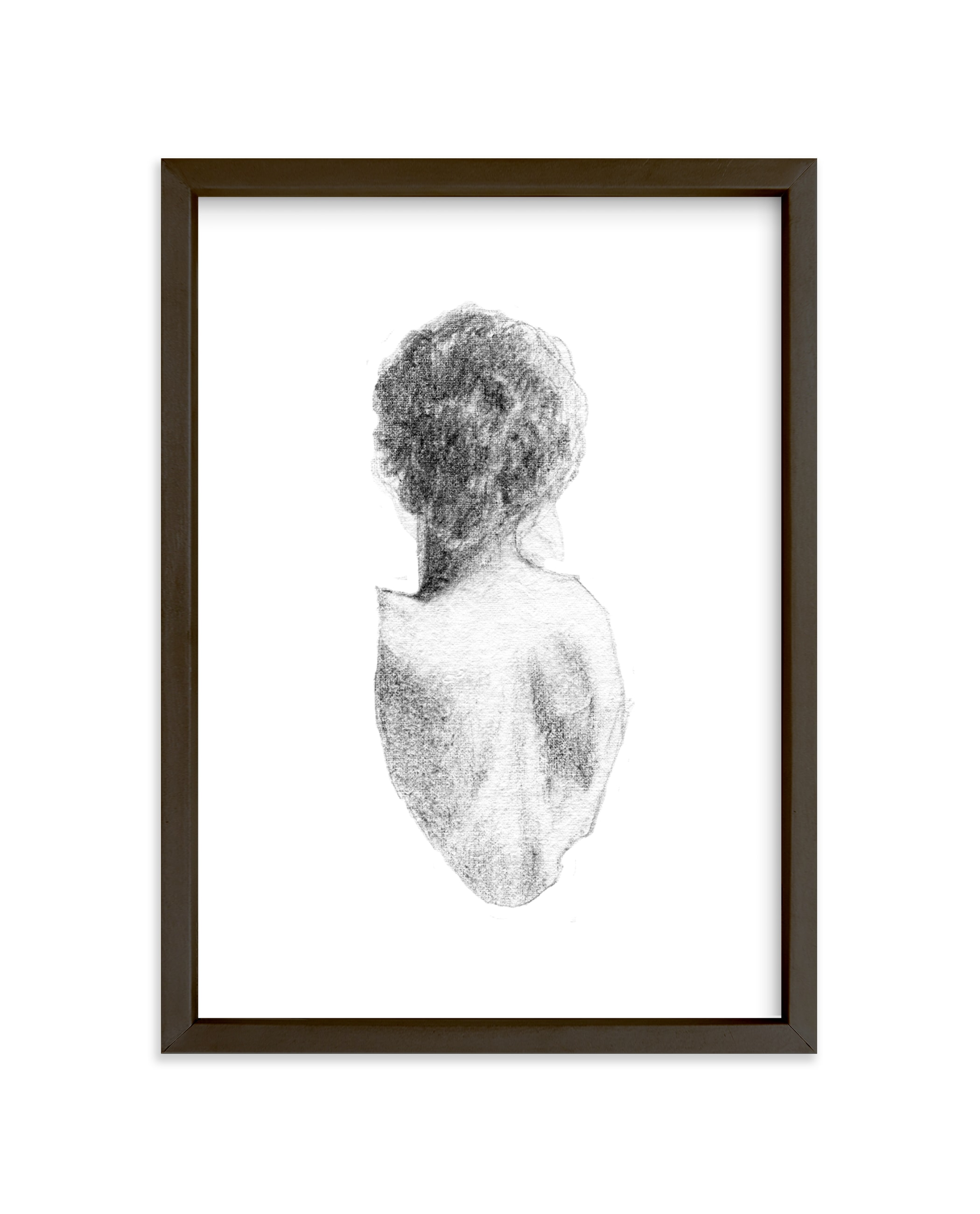 """Figure Drawing No.17"" - Limited Edition Art Print by Jess Blazejewski in beautiful frame options and a variety of sizes."