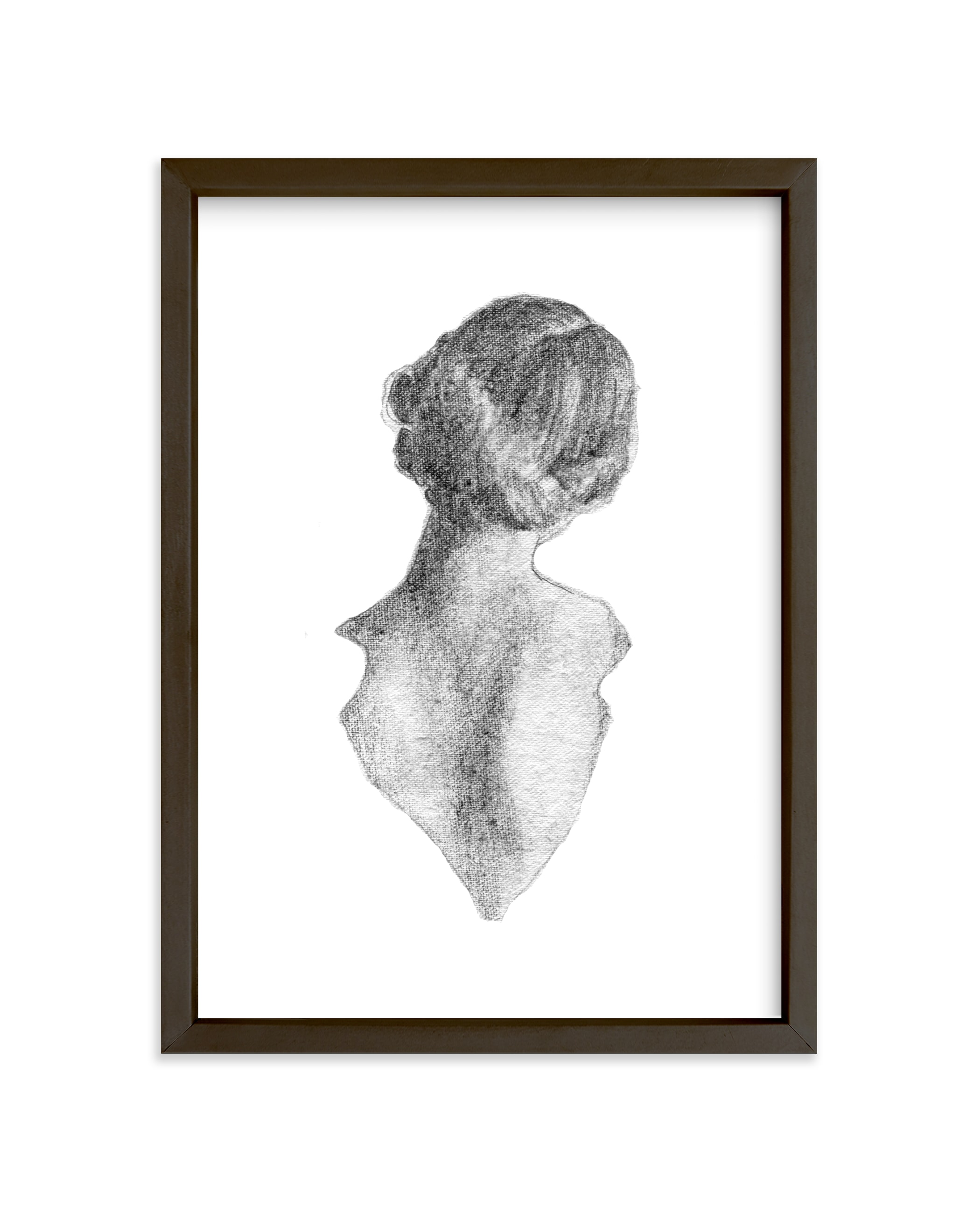 """Figure Drawing No.16"" - Limited Edition Art Print by Jess Blazejewski in beautiful frame options and a variety of sizes."