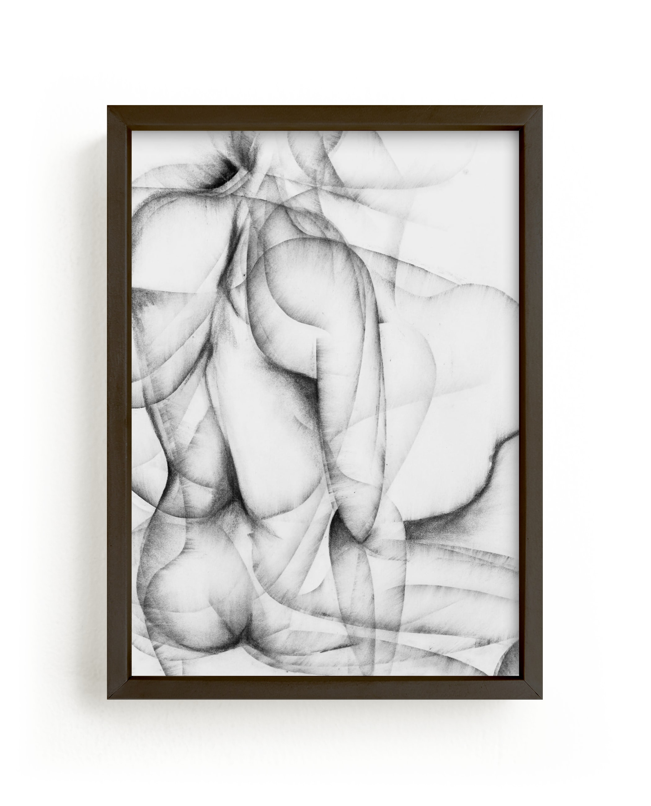"""""""More Alike than Not"""" - Limited Edition Art Print by Karen Kaul in beautiful frame options and a variety of sizes."""