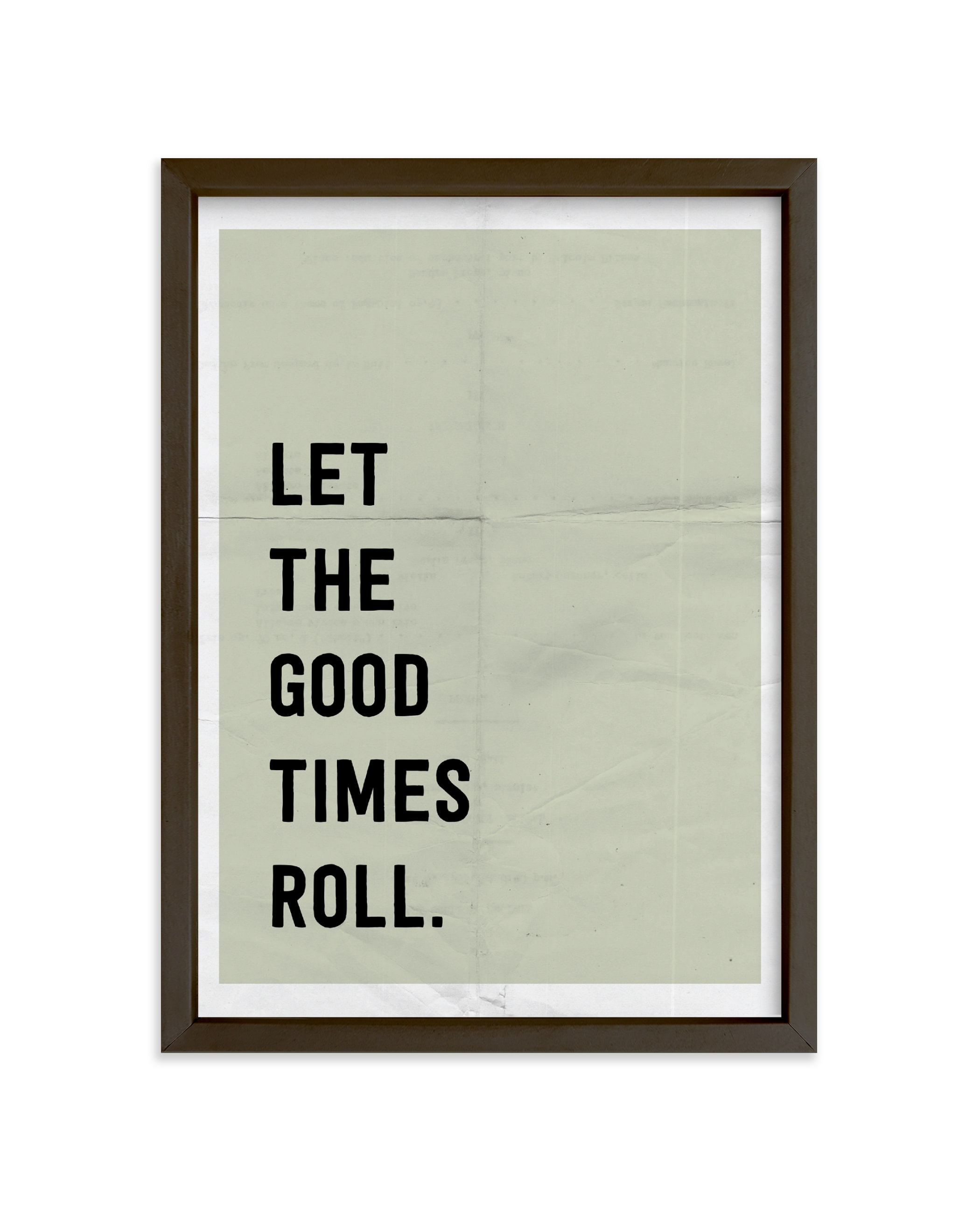 """""""Let the Good Times Roll"""" - Limited Edition Art Print by Morgan Kendall in beautiful frame options and a variety of sizes."""