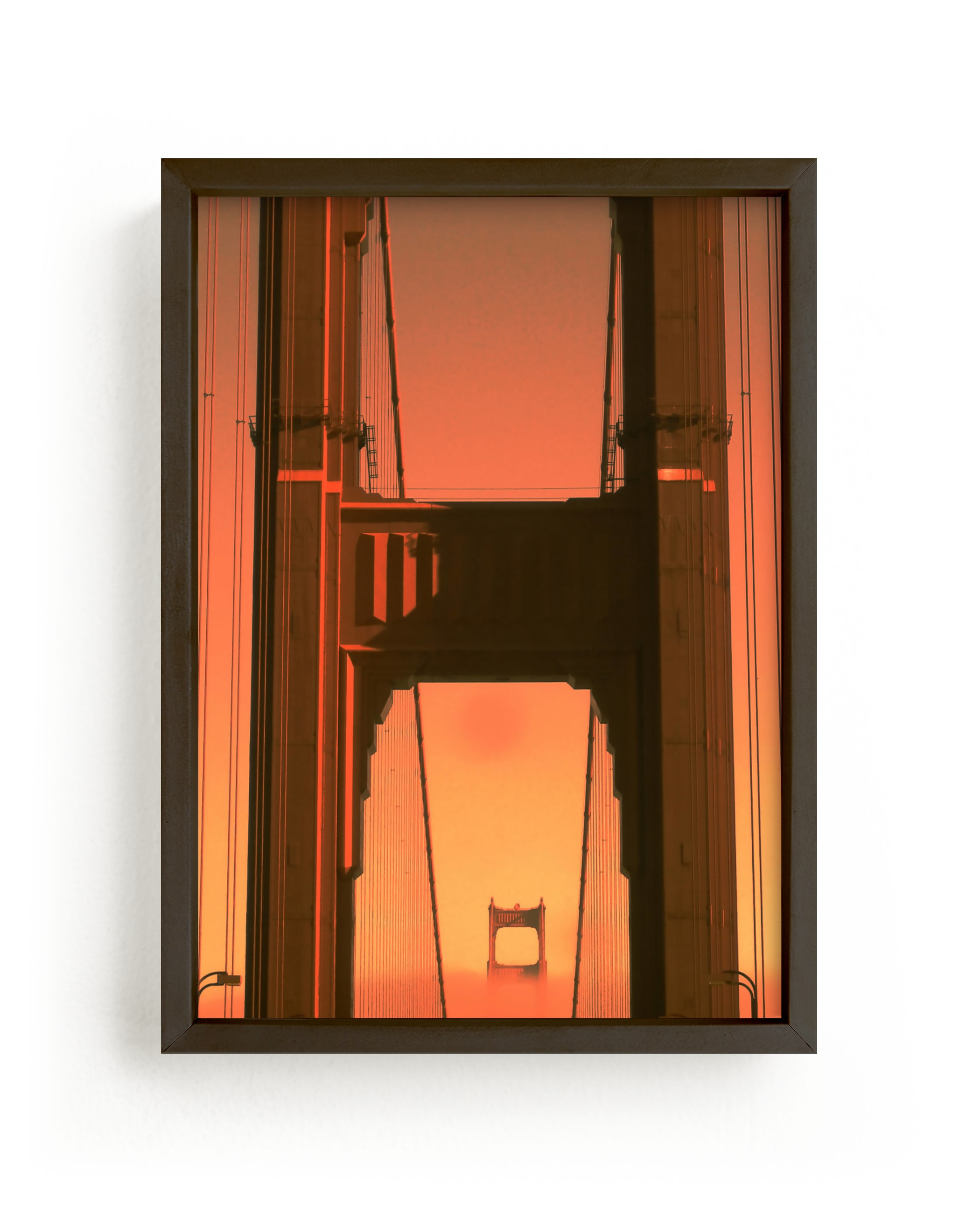 """""""Going back to Cali1"""" - Limited Edition Art Print by Lisa Sundin in beautiful frame options and a variety of sizes."""