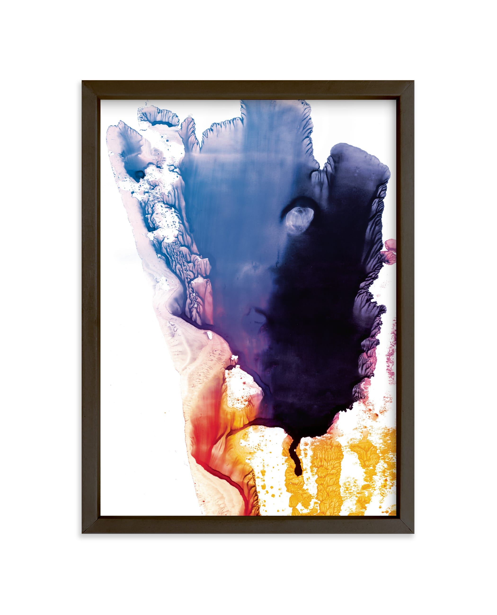 """bright splash"" - Limited Edition Art Print by Helen Halik in beautiful frame options and a variety of sizes."