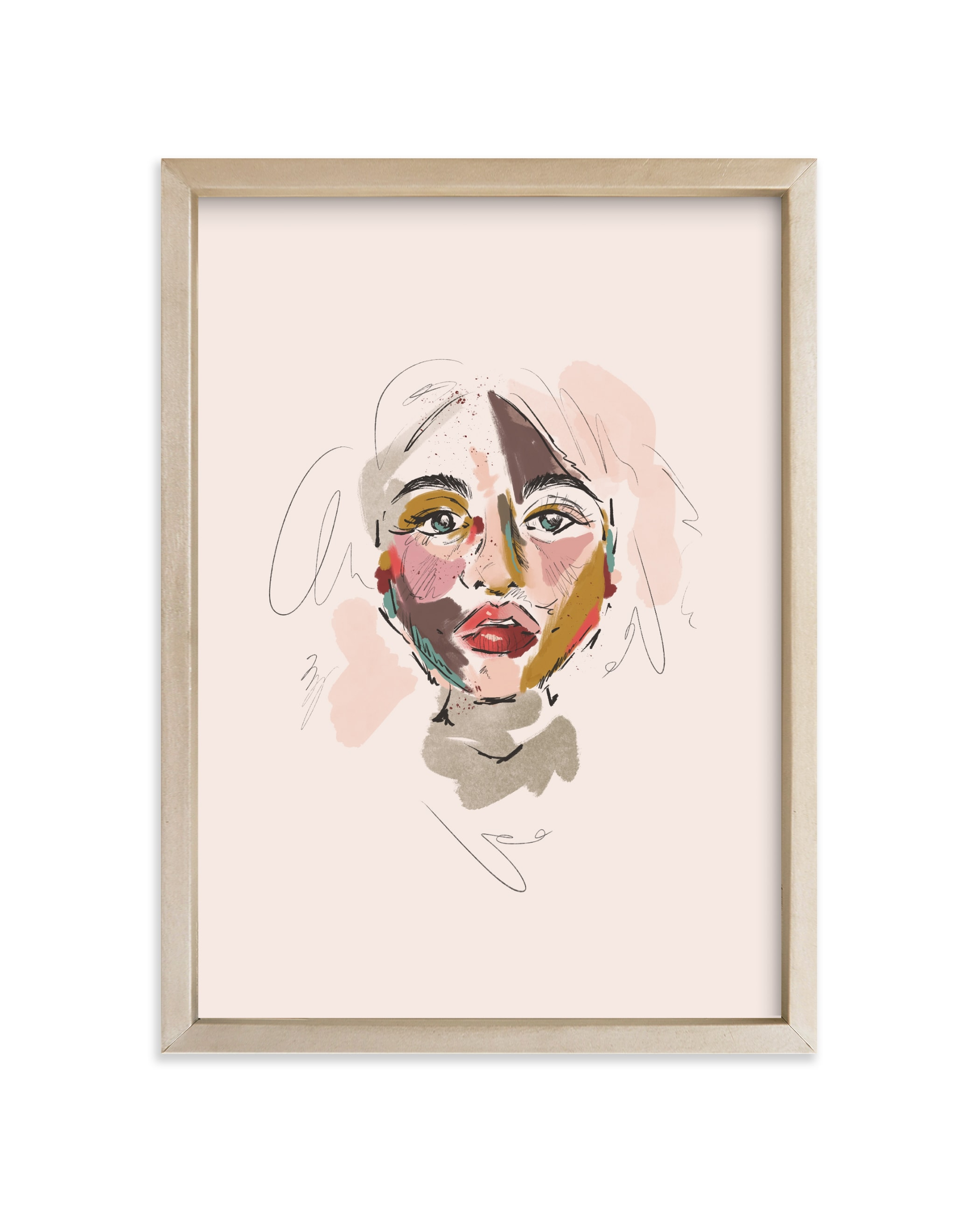 """""""The Sum of Its Parts"""" - Limited Edition Art Print by Kristen Smith in beautiful frame options and a variety of sizes."""