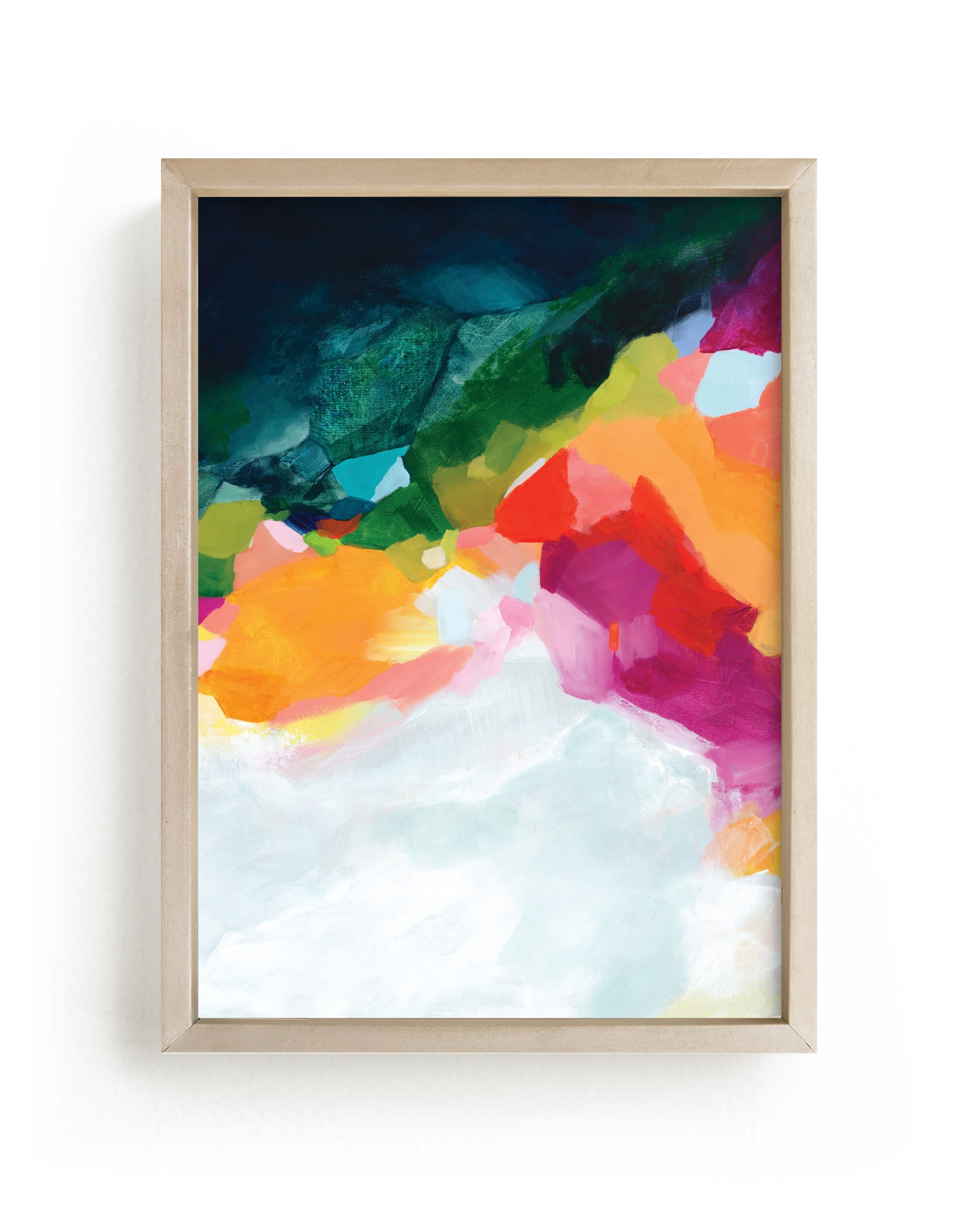 """""""Aerial Coastline"""" - Limited Edition Art Print by Mya Bessette in beautiful frame options and a variety of sizes."""