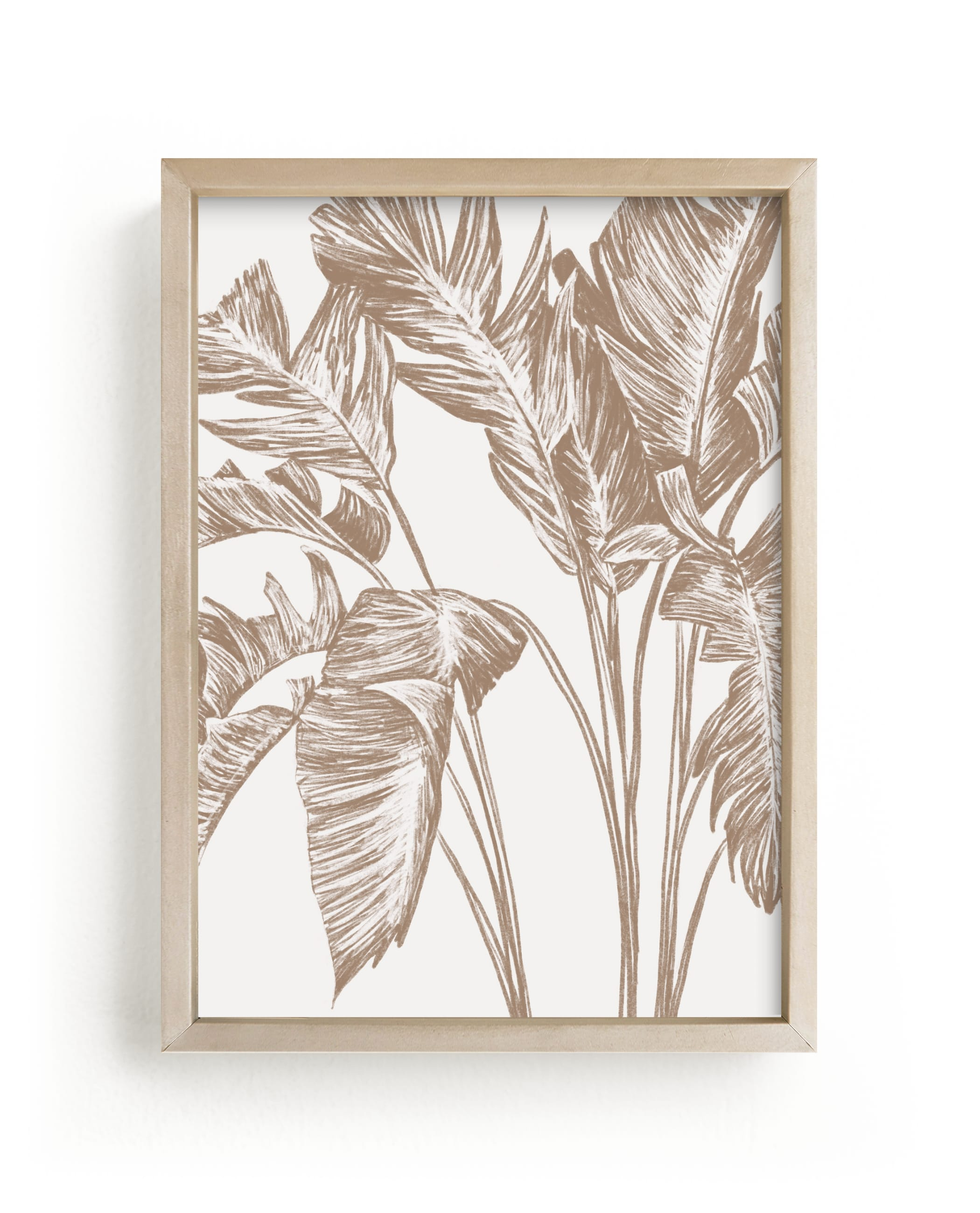"""""""Bird of Paradise"""" - Limited Edition Art Print by Lissabeth Anglin in beautiful frame options and a variety of sizes."""