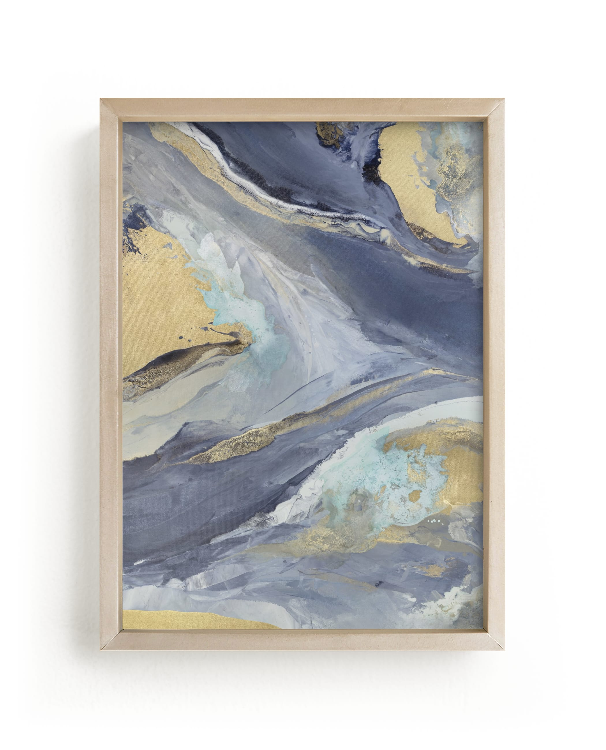 """Cascading Light"" - Limited Edition Art Print by Julia Contacessi in beautiful frame options and a variety of sizes."