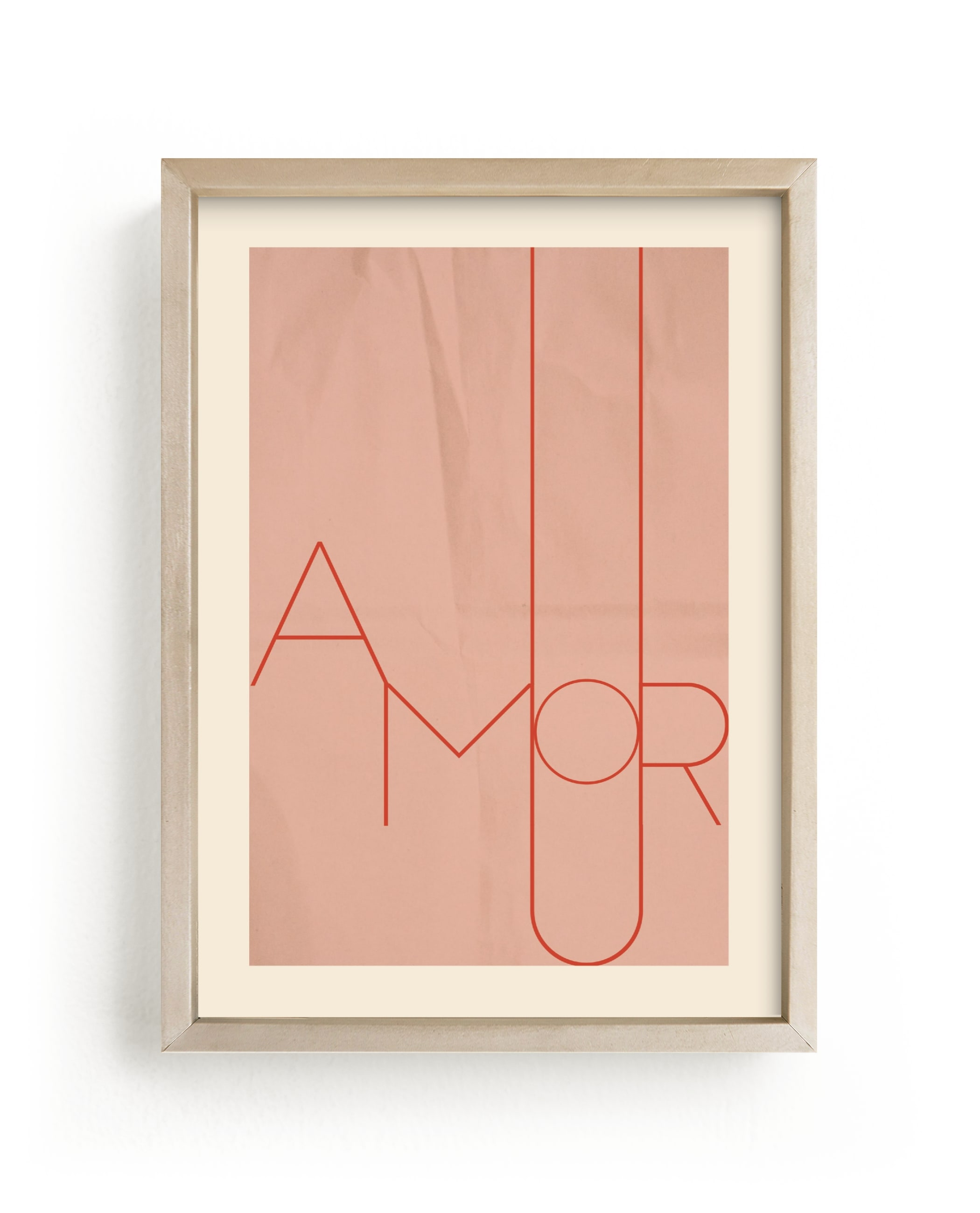 """Amour"" - Limited Edition Art Print by Morgan Kendall in beautiful frame options and a variety of sizes."