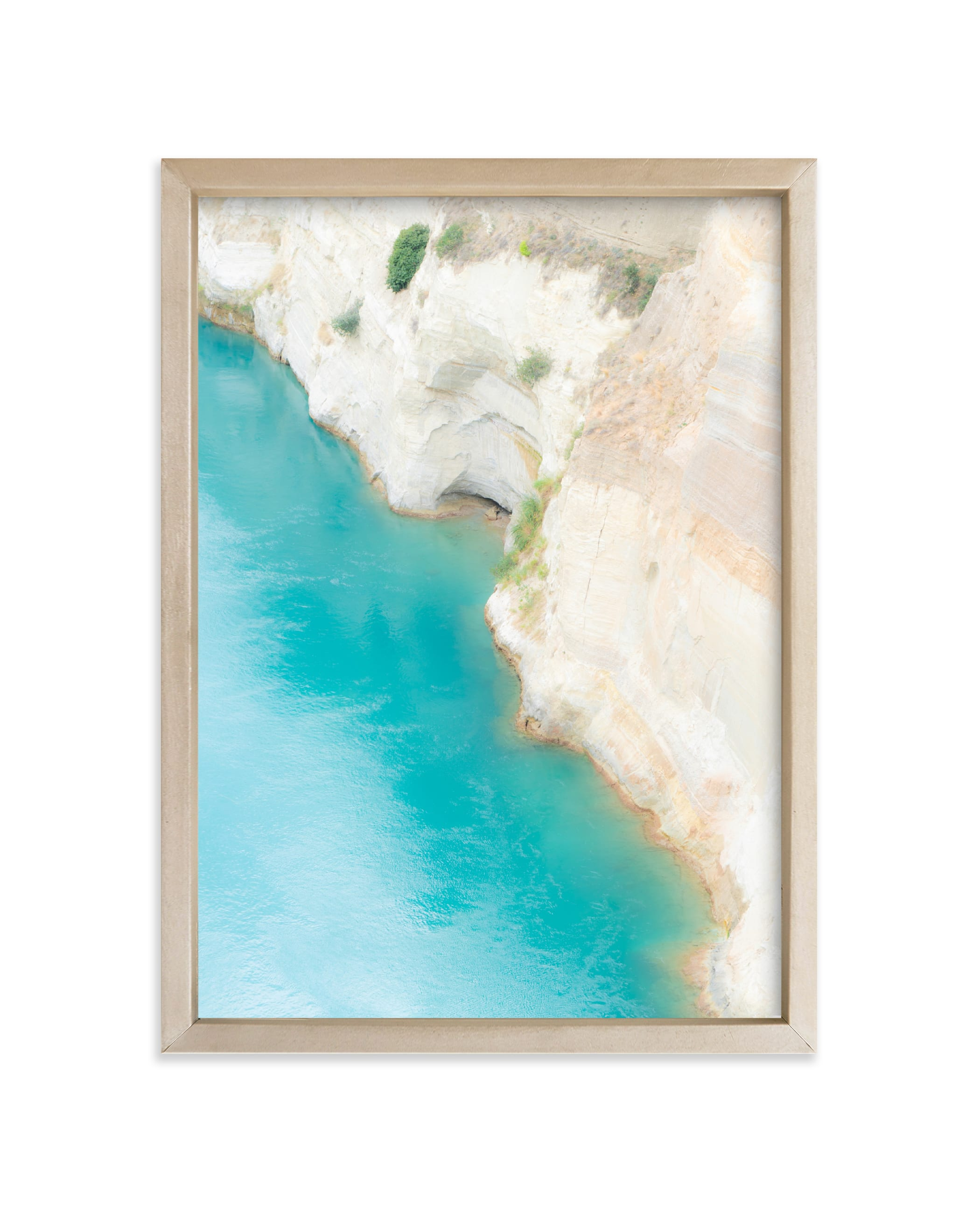 """""""Dive In"""" - Limited Edition Art Print by Courtney Crane in beautiful frame options and a variety of sizes."""