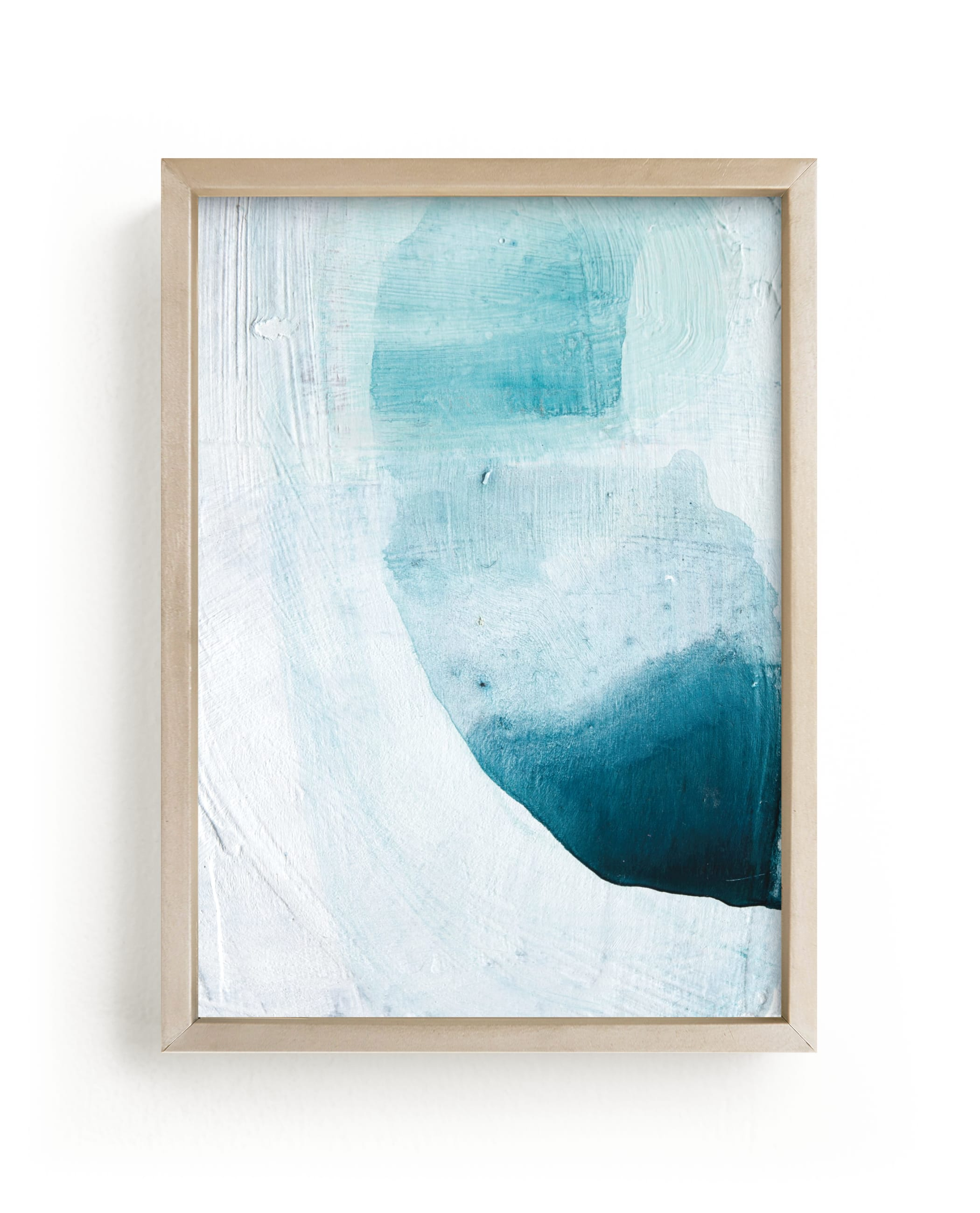 """""""Layered Shapes"""" - Limited Edition Art Print by Rachel Kiser Smith in beautiful frame options and a variety of sizes."""