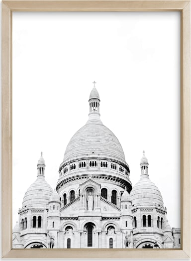 This is a ivory art by Wildfield Paper Co. called Looking Over Montmartre.