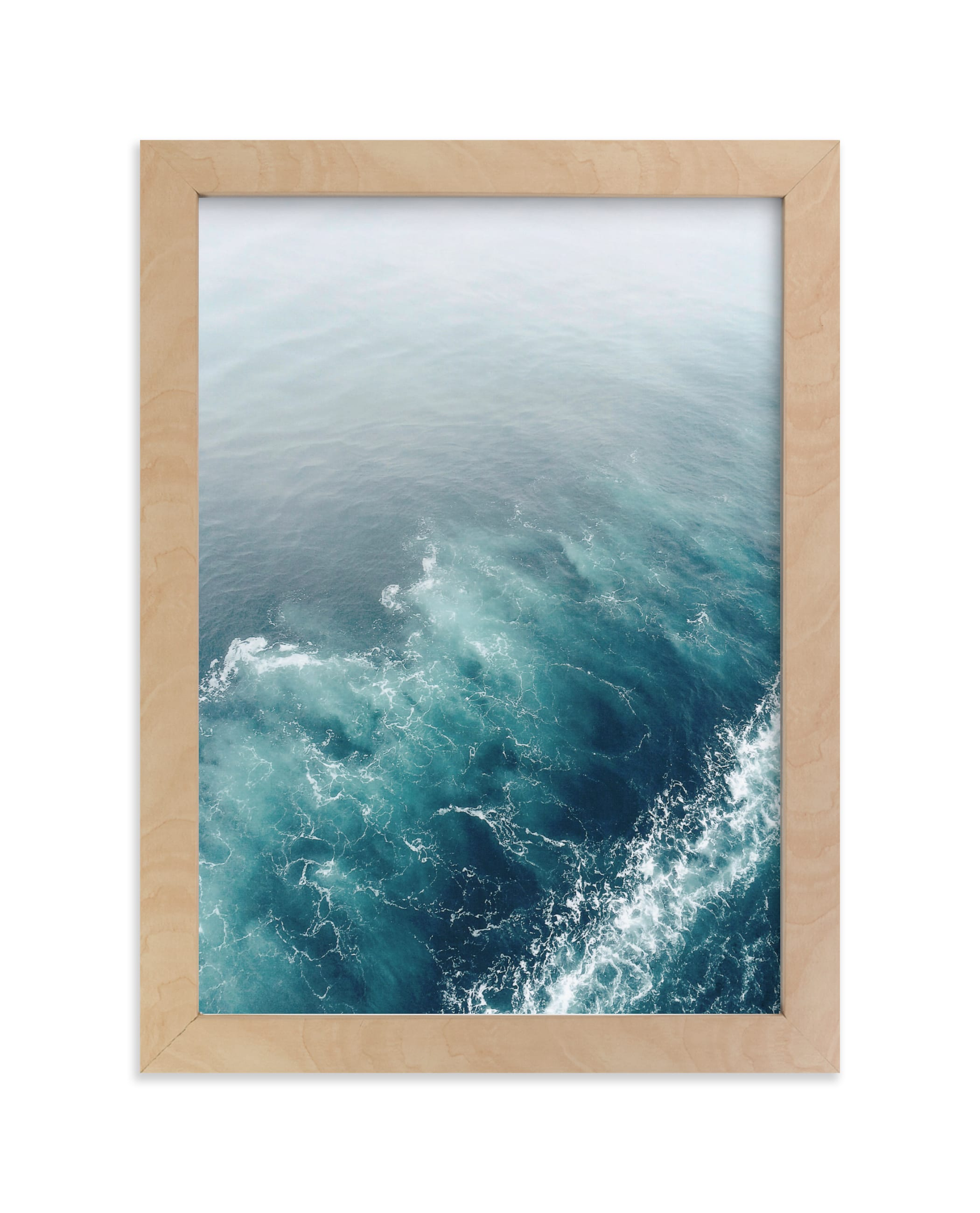 """""""Marbled Wake"""" - Limited Edition Art Print by SylvieCeres Designs in beautiful frame options and a variety of sizes."""