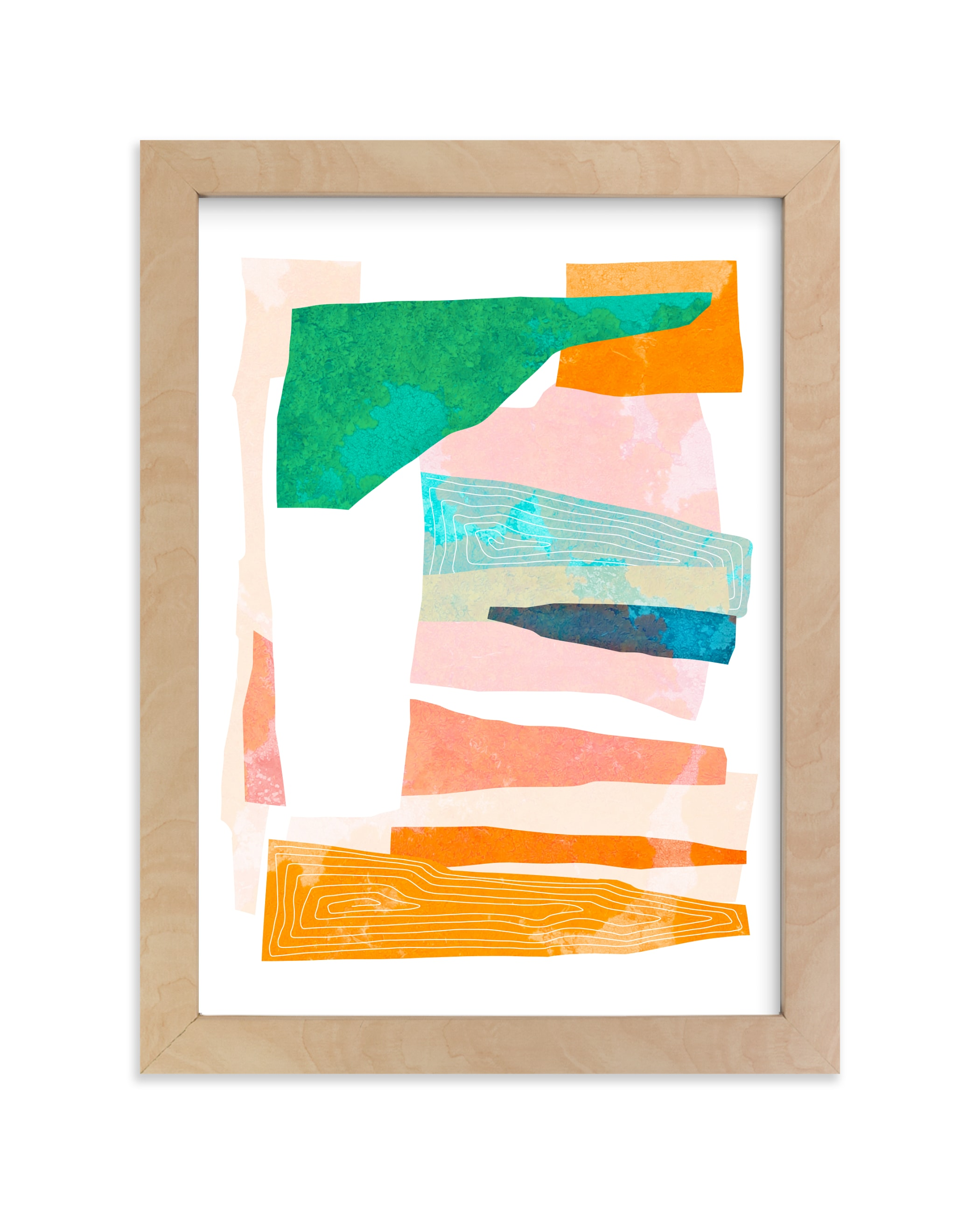 """""""Happy Memories nº1"""" - Limited Edition Art Print by Dominique Vari in beautiful frame options and a variety of sizes."""