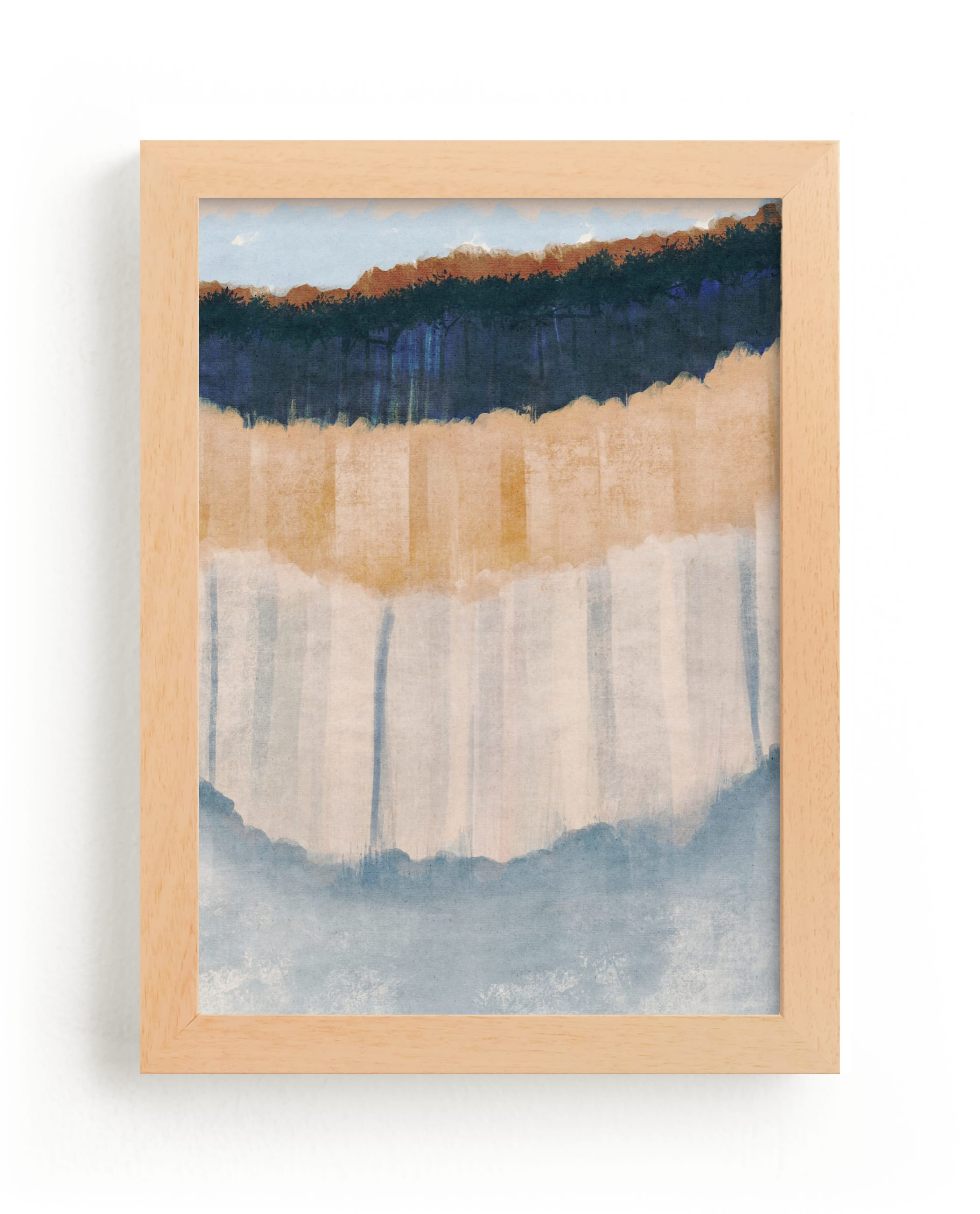 """""""Light Rustic Formation I"""" - Limited Edition Art Print by Angel Walker in beautiful frame options and a variety of sizes."""