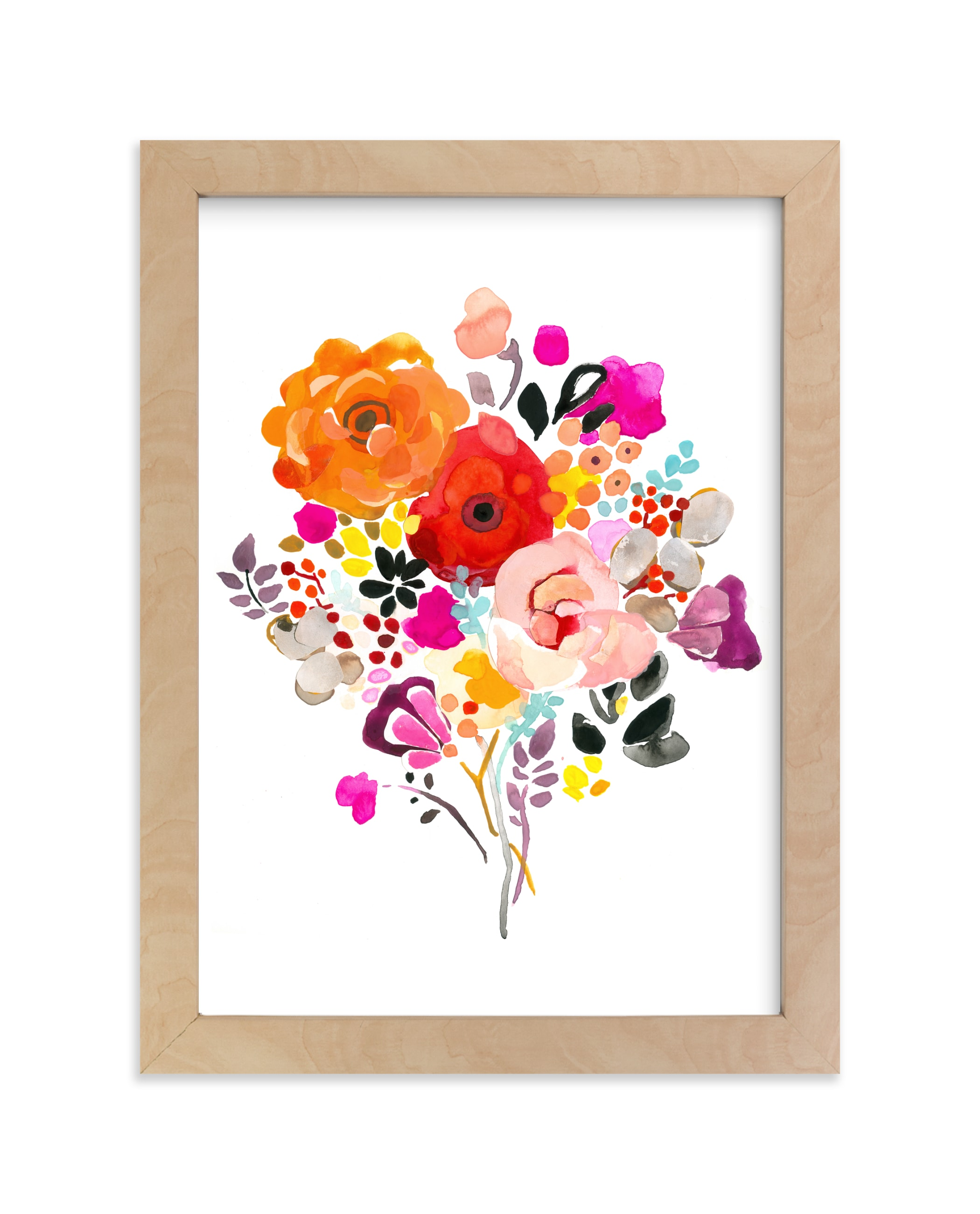 """""""Luminous"""" - Limited Edition Art Print by Betty Hatchett in beautiful frame options and a variety of sizes."""