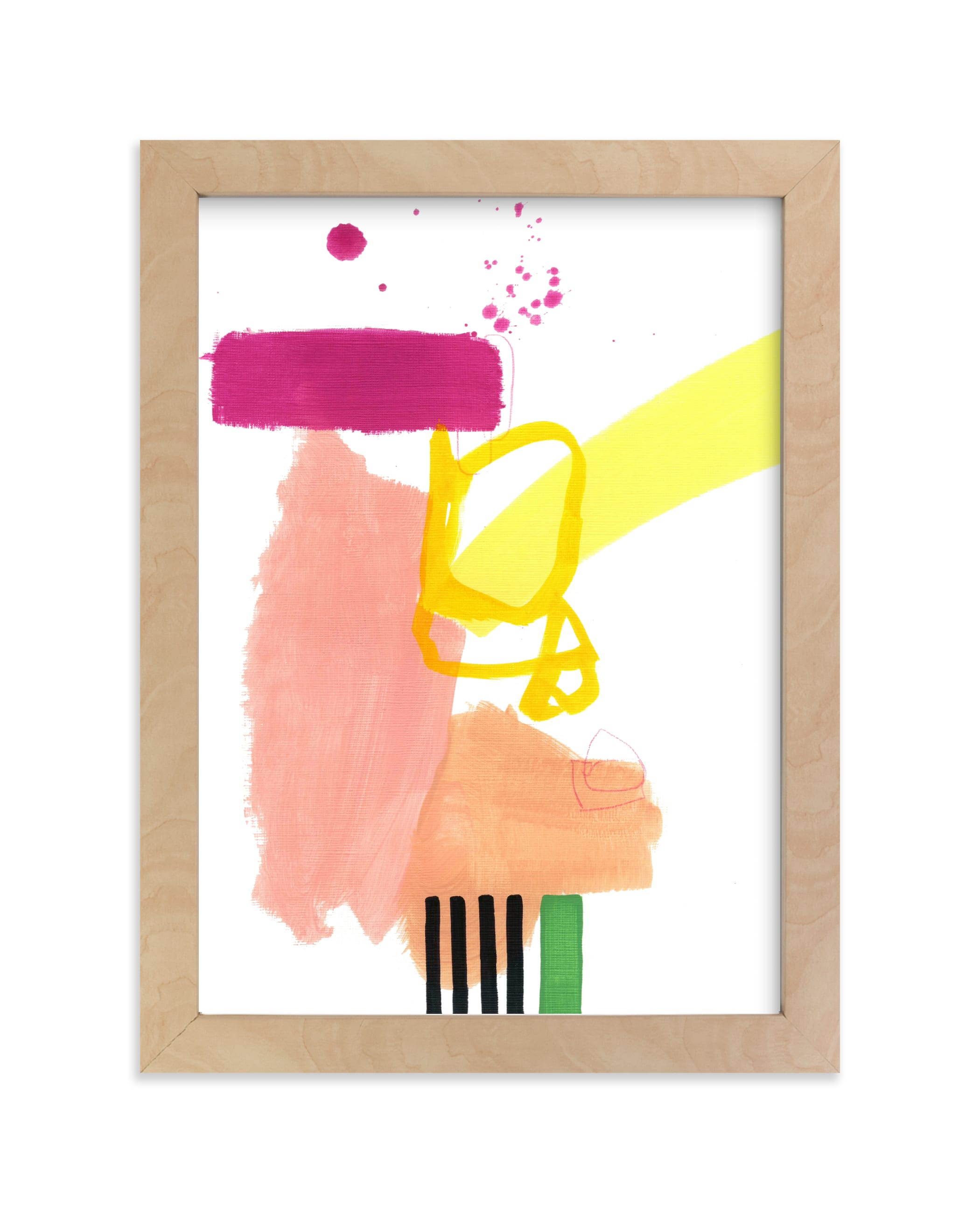 """""""Composition 4"""" - Limited Edition Art Print by Jaime Derringer in beautiful frame options and a variety of sizes."""