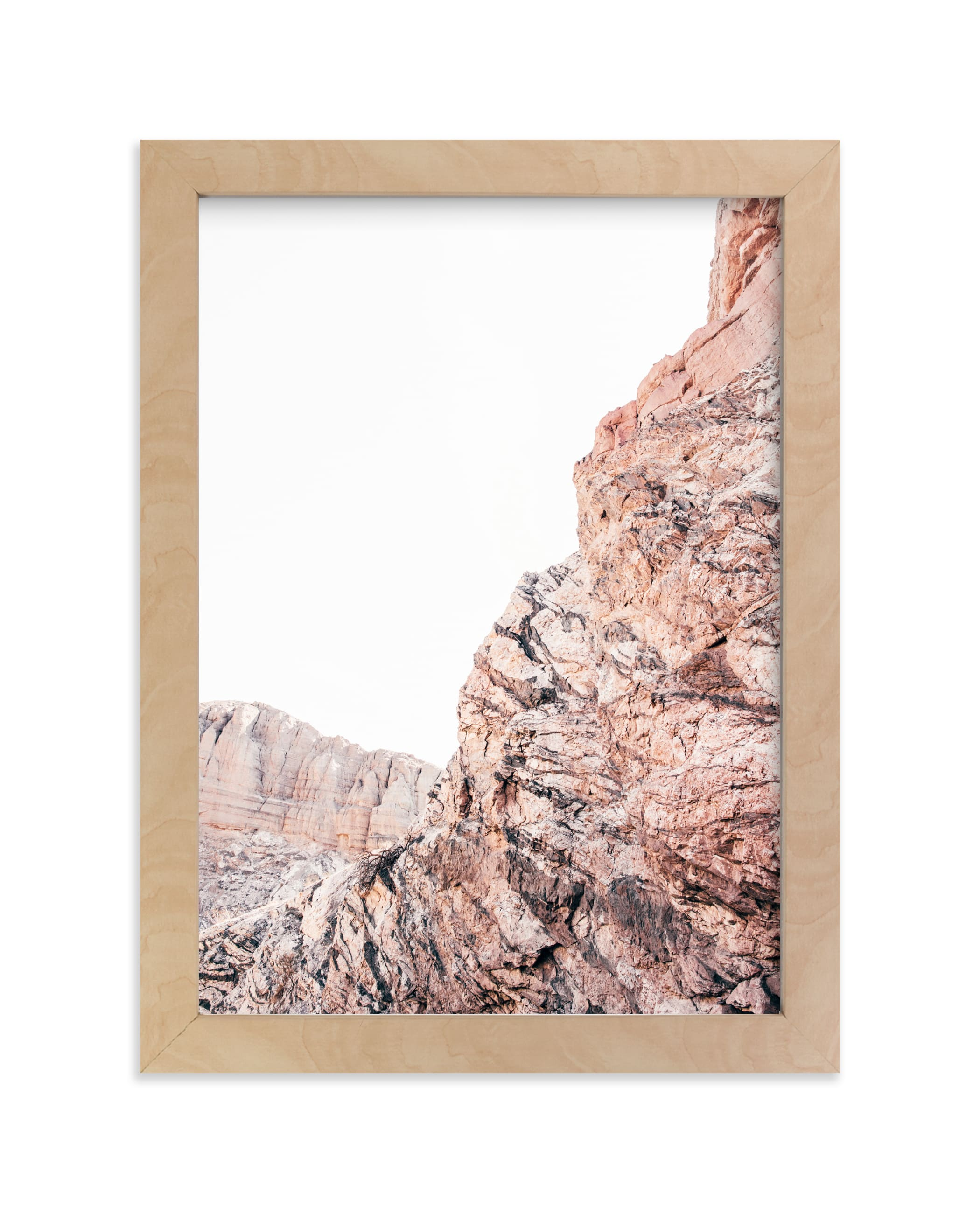 """""""Painted Canyon 1"""" - Limited Edition Art Print by Kamala Nahas in beautiful frame options and a variety of sizes."""