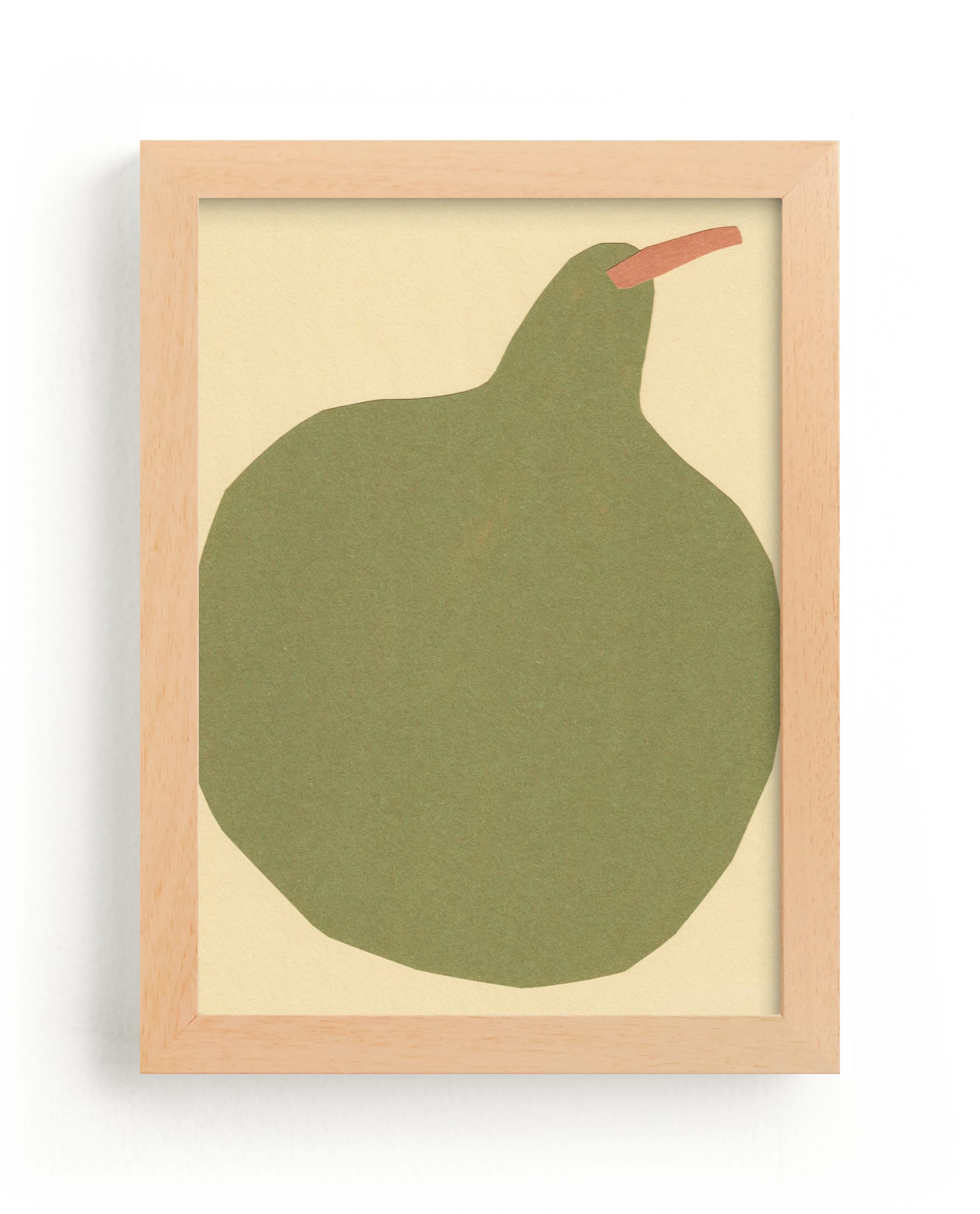 """""""Big Pear"""" - Limited Edition Art Print by Elliot Stokes in beautiful frame options and a variety of sizes."""