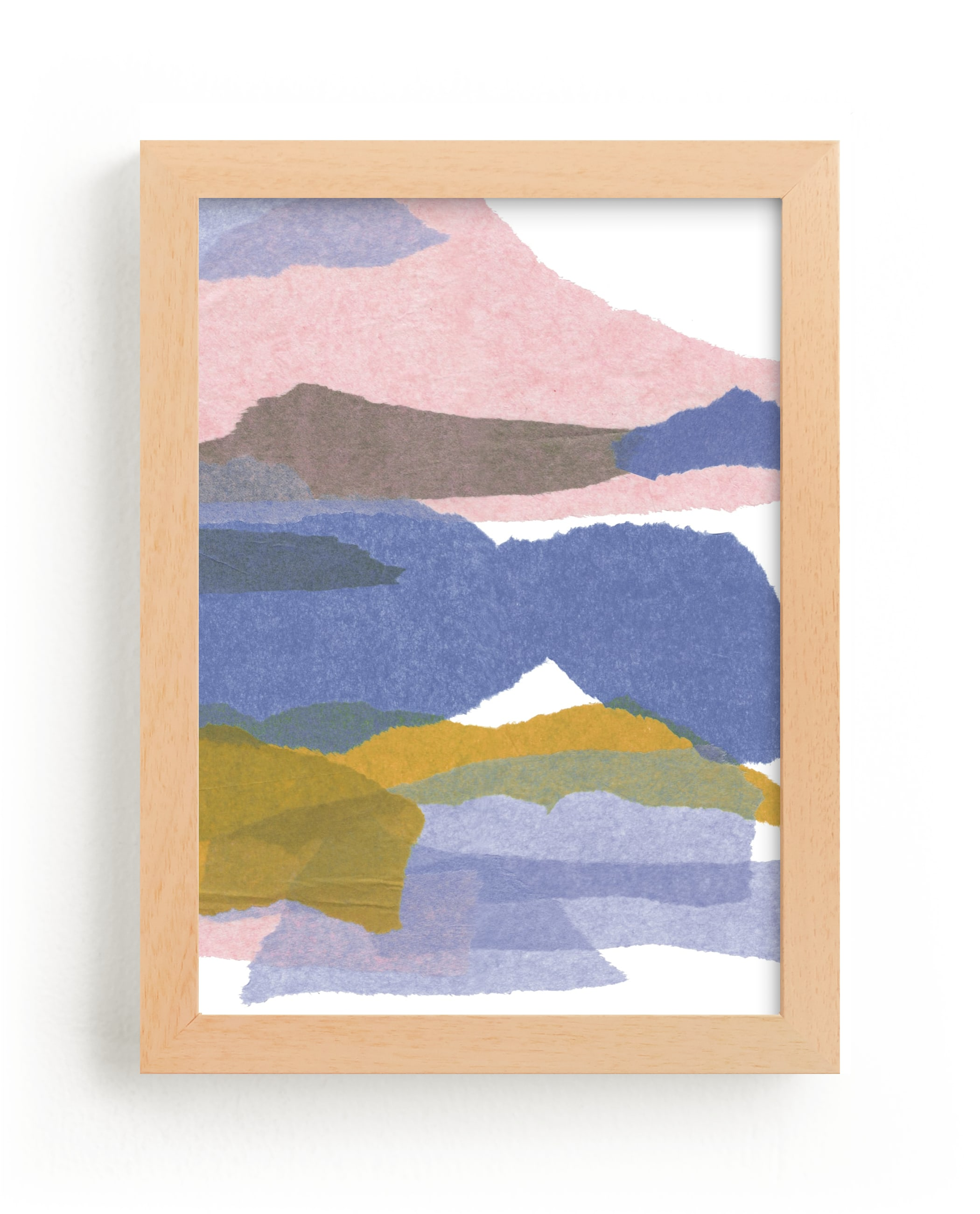 """mountain sunset three"" - Limited Edition Art Print by Carrie Moradi in beautiful frame options and a variety of sizes."