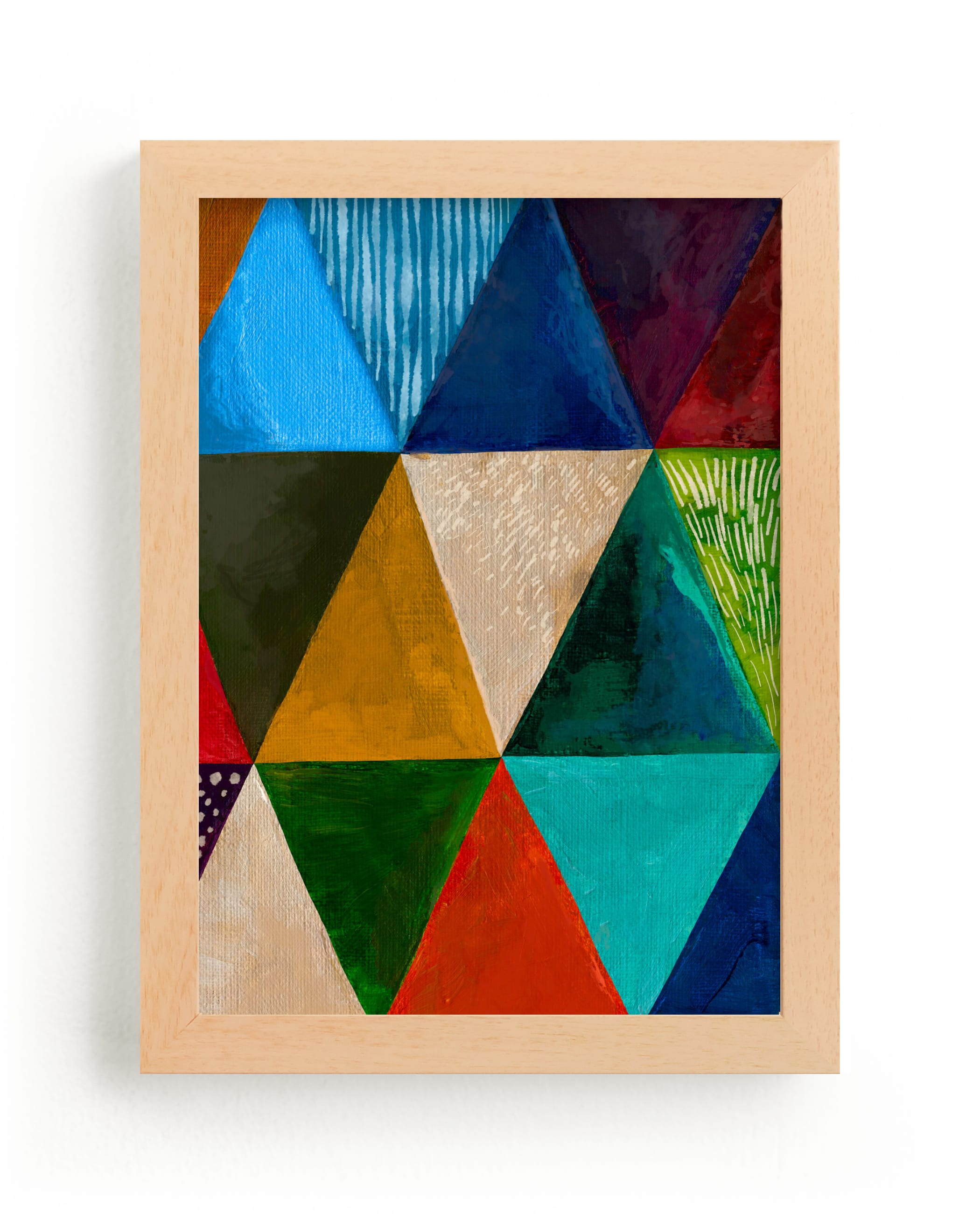 """""""Prismatic"""" - Limited Edition Art Print by Emily Kariniemi in beautiful frame options and a variety of sizes."""