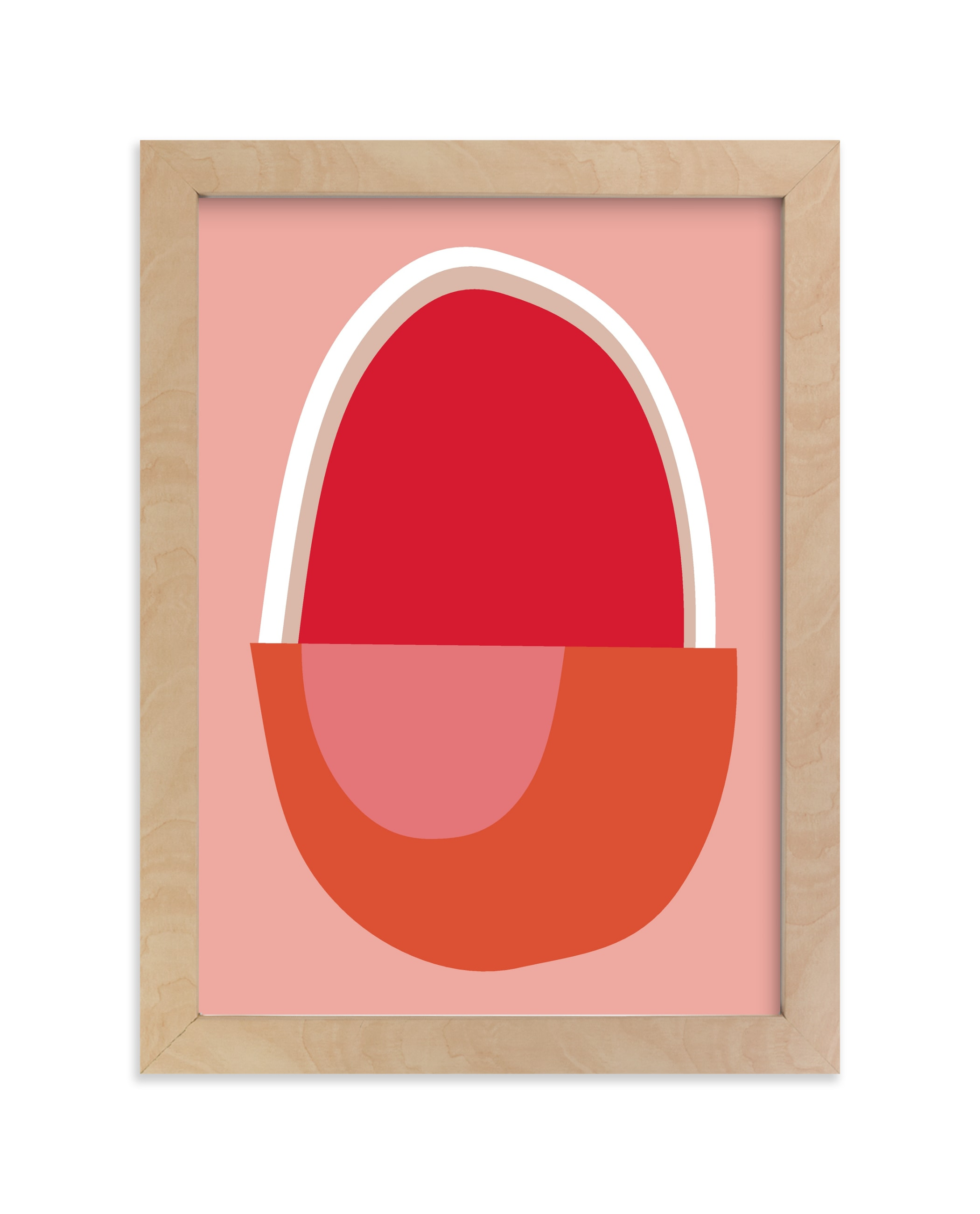 """Big Egg"" - Limited Edition Art Print by sue prue in beautiful frame options and a variety of sizes."