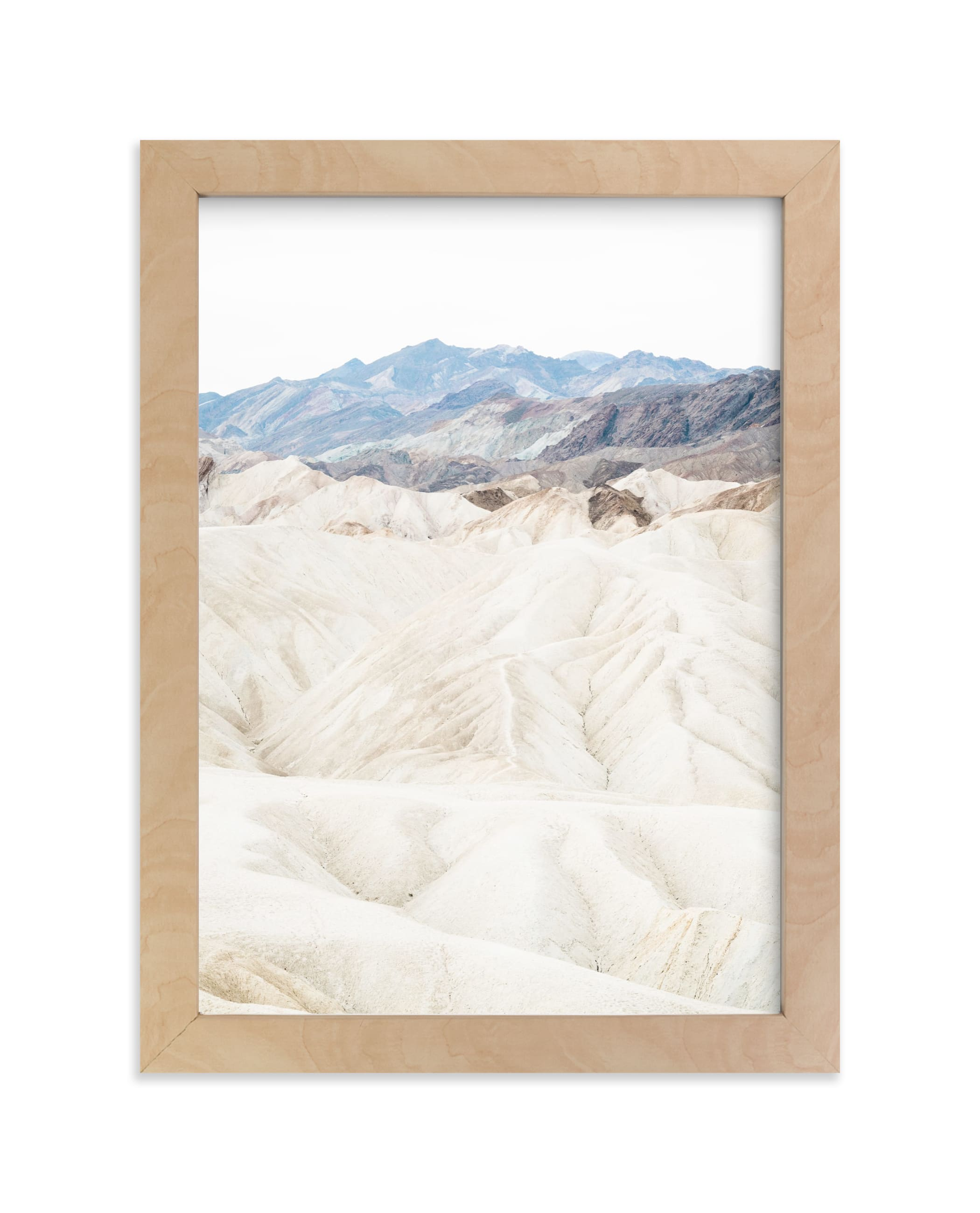 """White Canyon 2"" - Limited Edition Art Print by Kamala Nahas in beautiful frame options and a variety of sizes."
