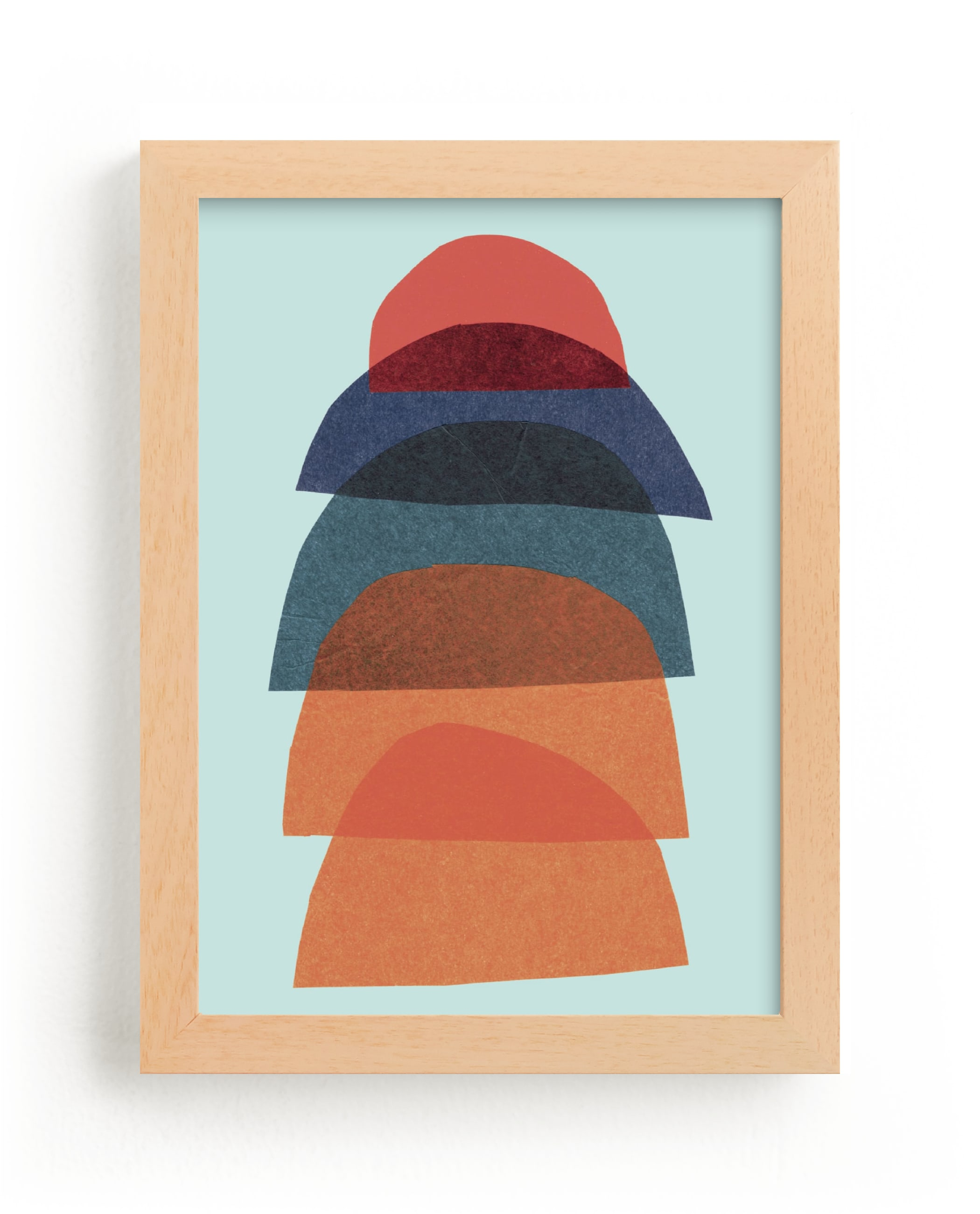 """paper stack"" - Limited Edition Art Print by Carrie Moradi in beautiful frame options and a variety of sizes."