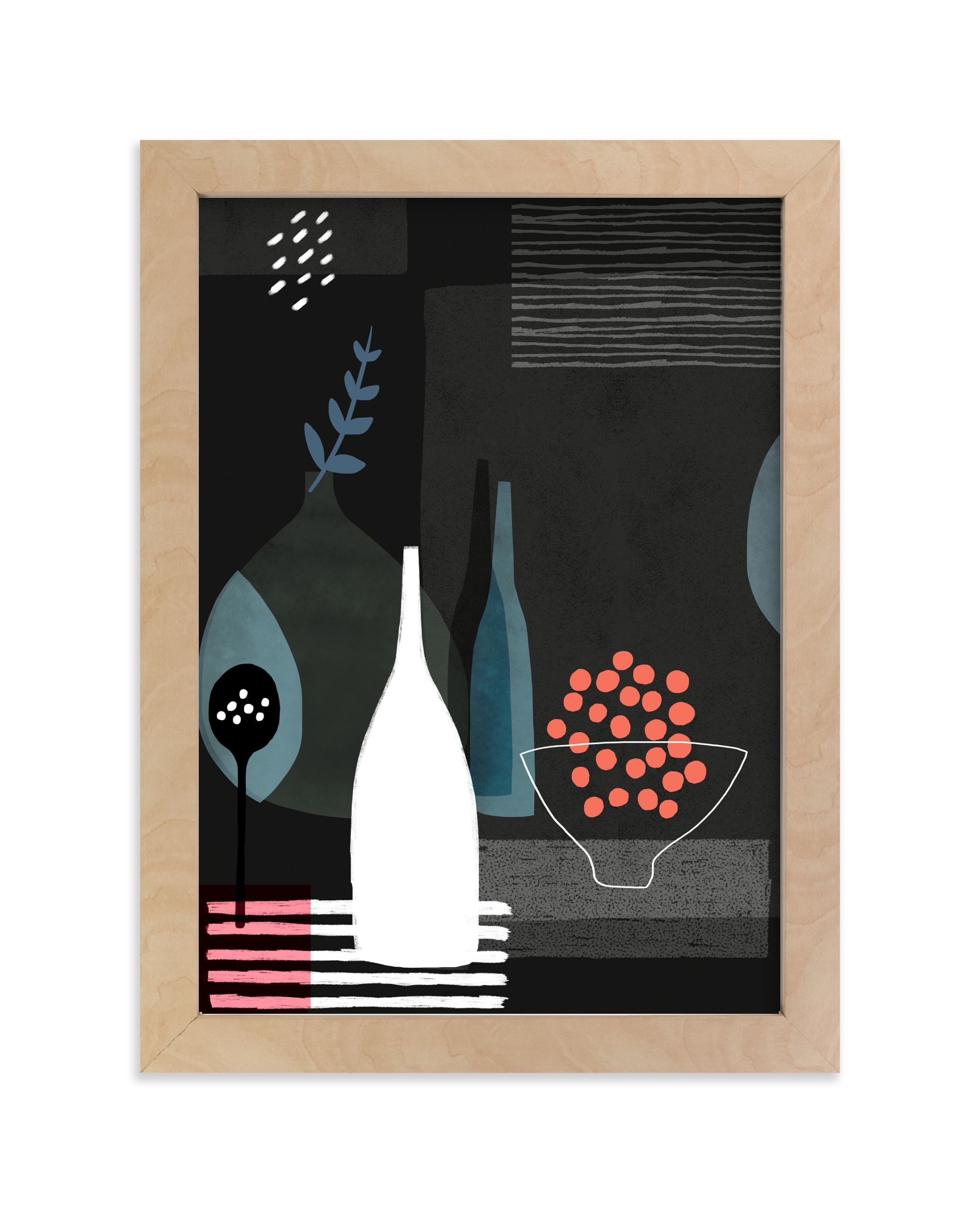 """""""Night Hours I"""" - Art Print by Francesca Iannaccone in beautiful frame options and a variety of sizes."""