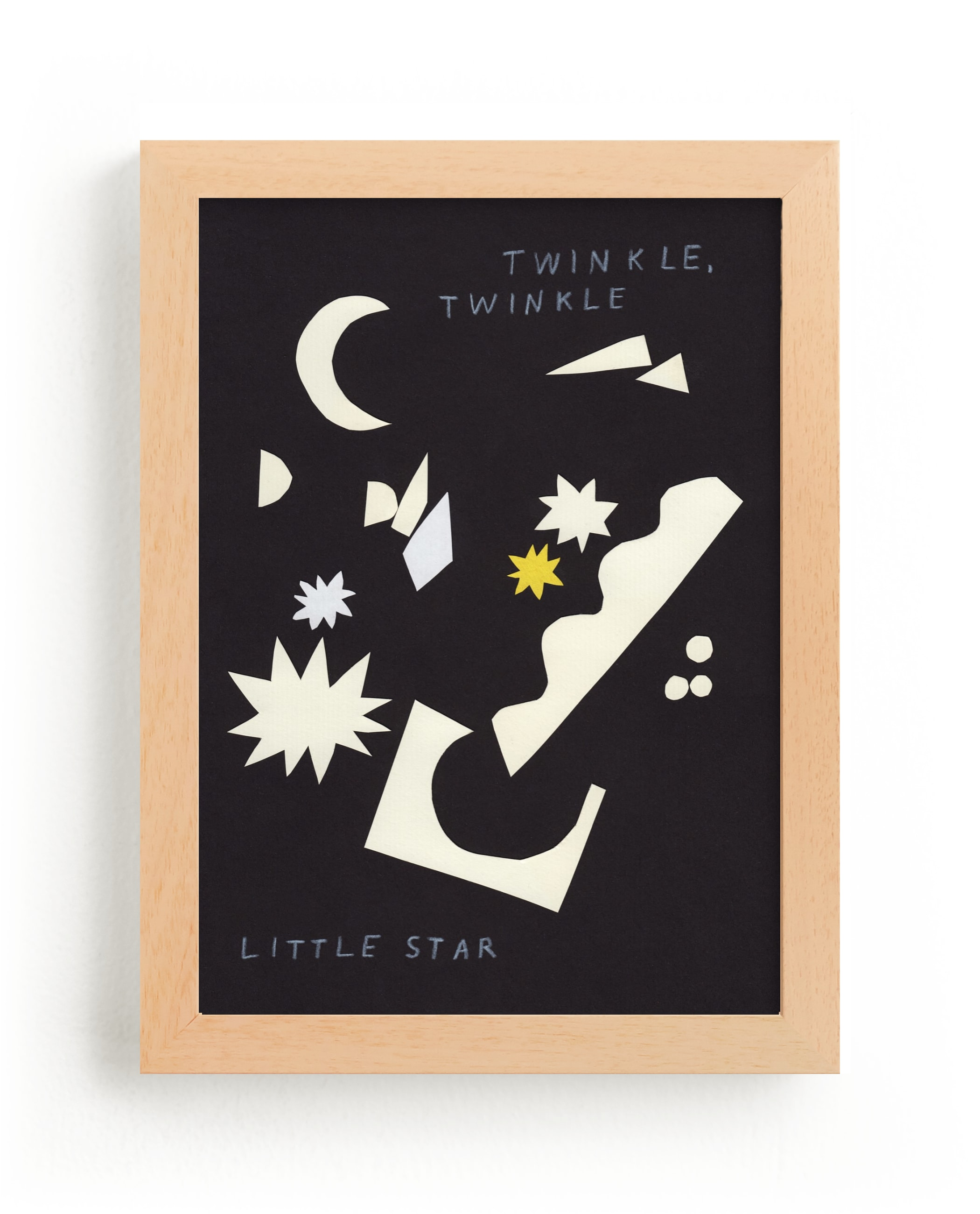 """Twinkle, Twinkle Little Star"" - Limited Edition Art Print by Elliot Stokes in beautiful frame options and a variety of sizes."