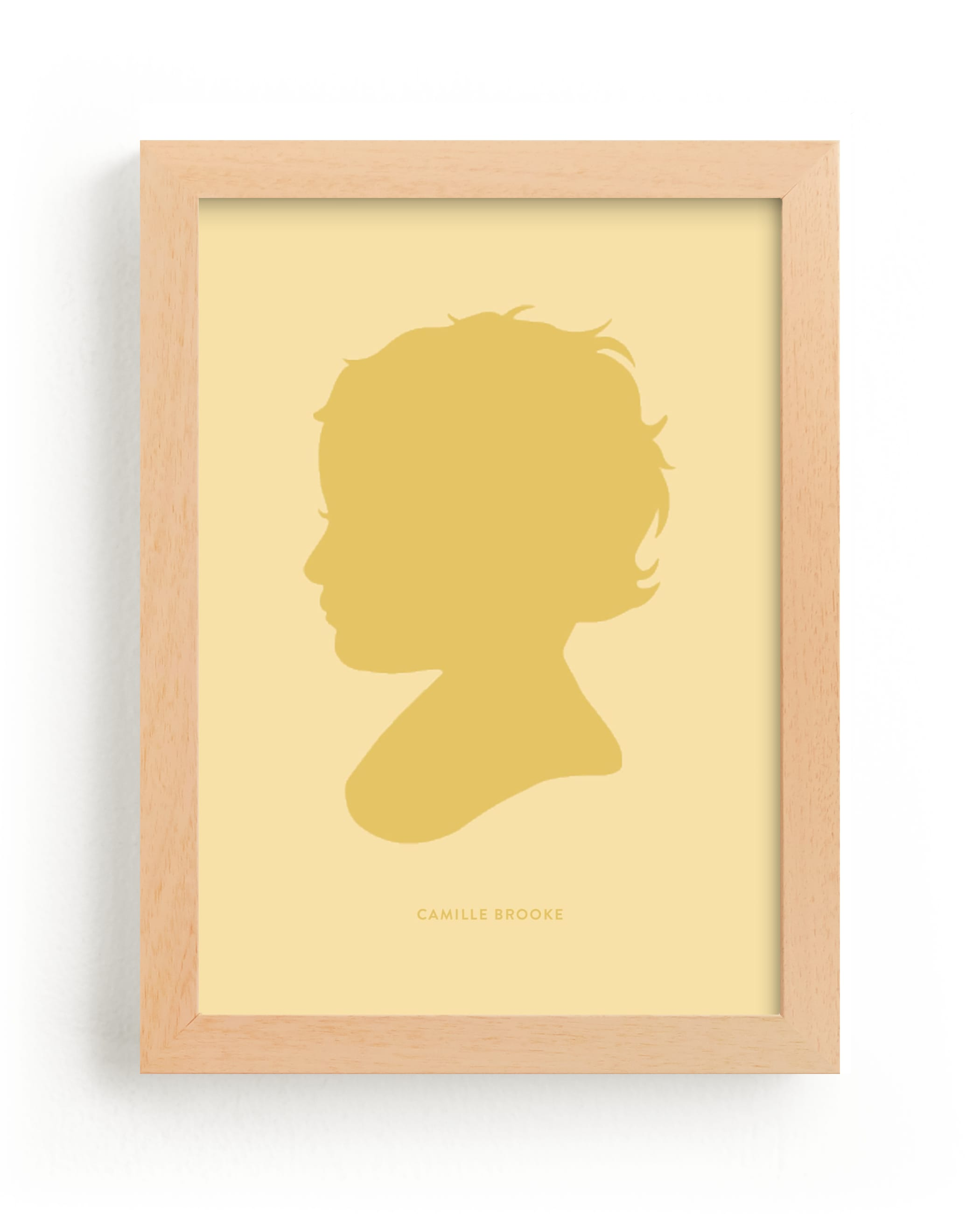 """""""Tone on Tone Silhouette"""" - Silhouette Digital Art by Minted in beautiful frame options and a variety of sizes."""