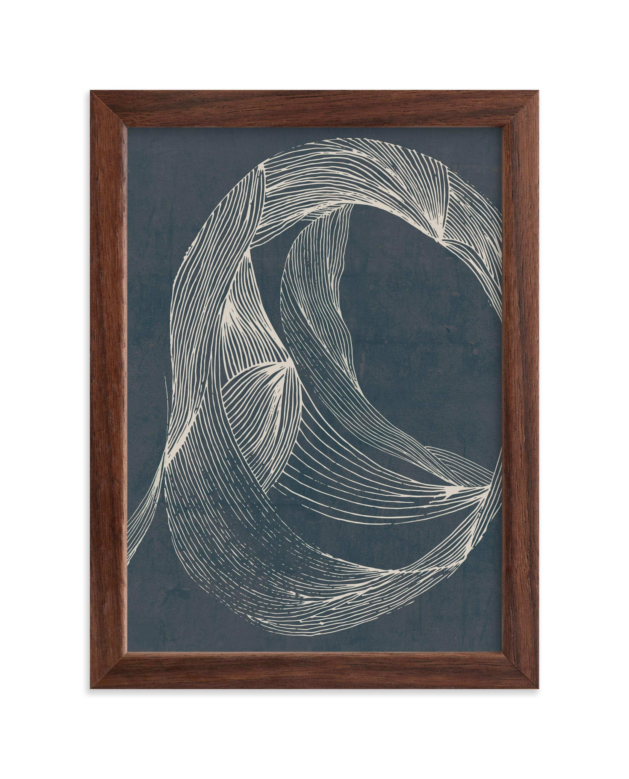 """""""Dancing Lines"""" - Limited Edition Art Print by Lucrecia in beautiful frame options and a variety of sizes."""