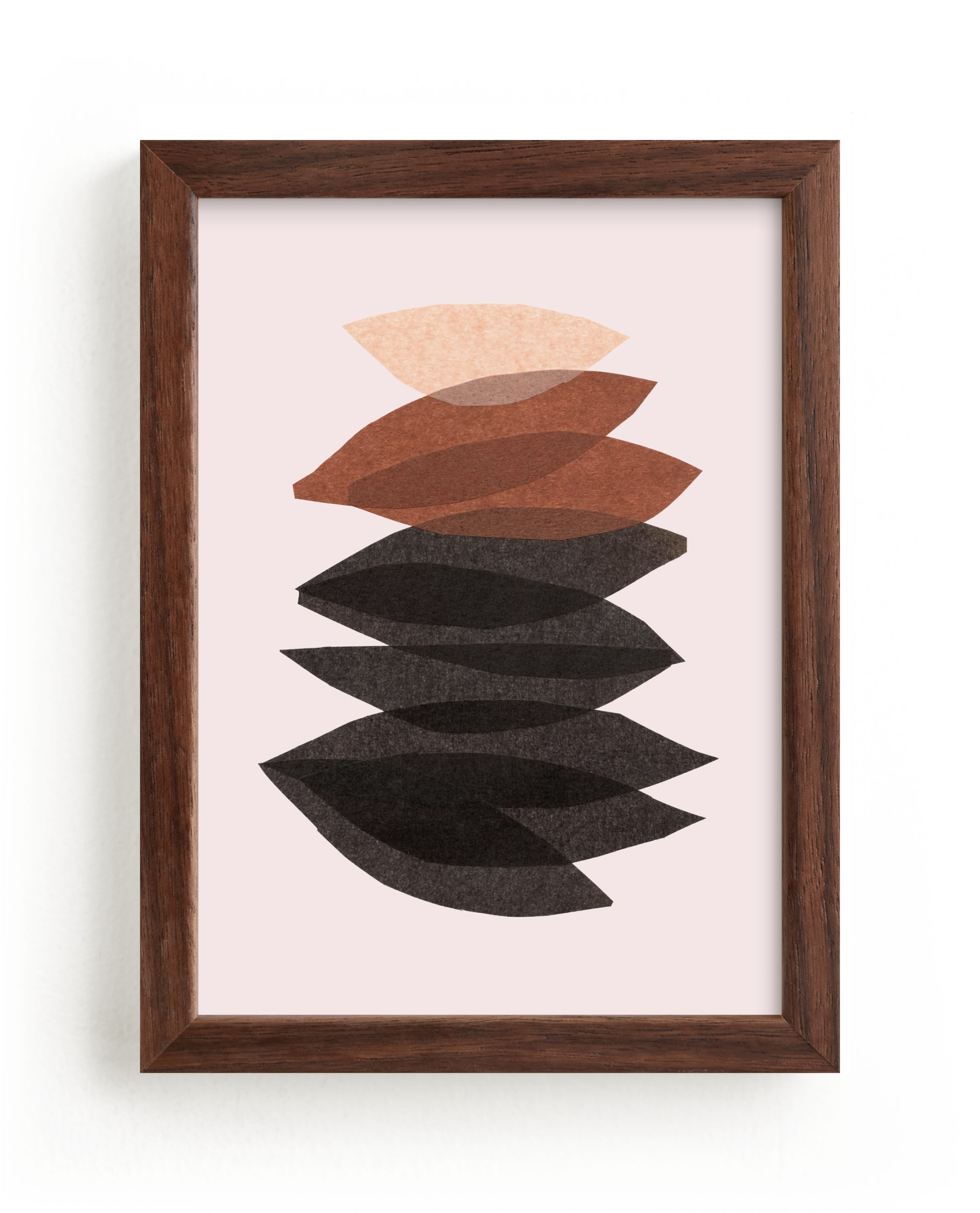 """""""organic stack"""" - Limited Edition Art Print by Carrie Moradi in beautiful frame options and a variety of sizes."""