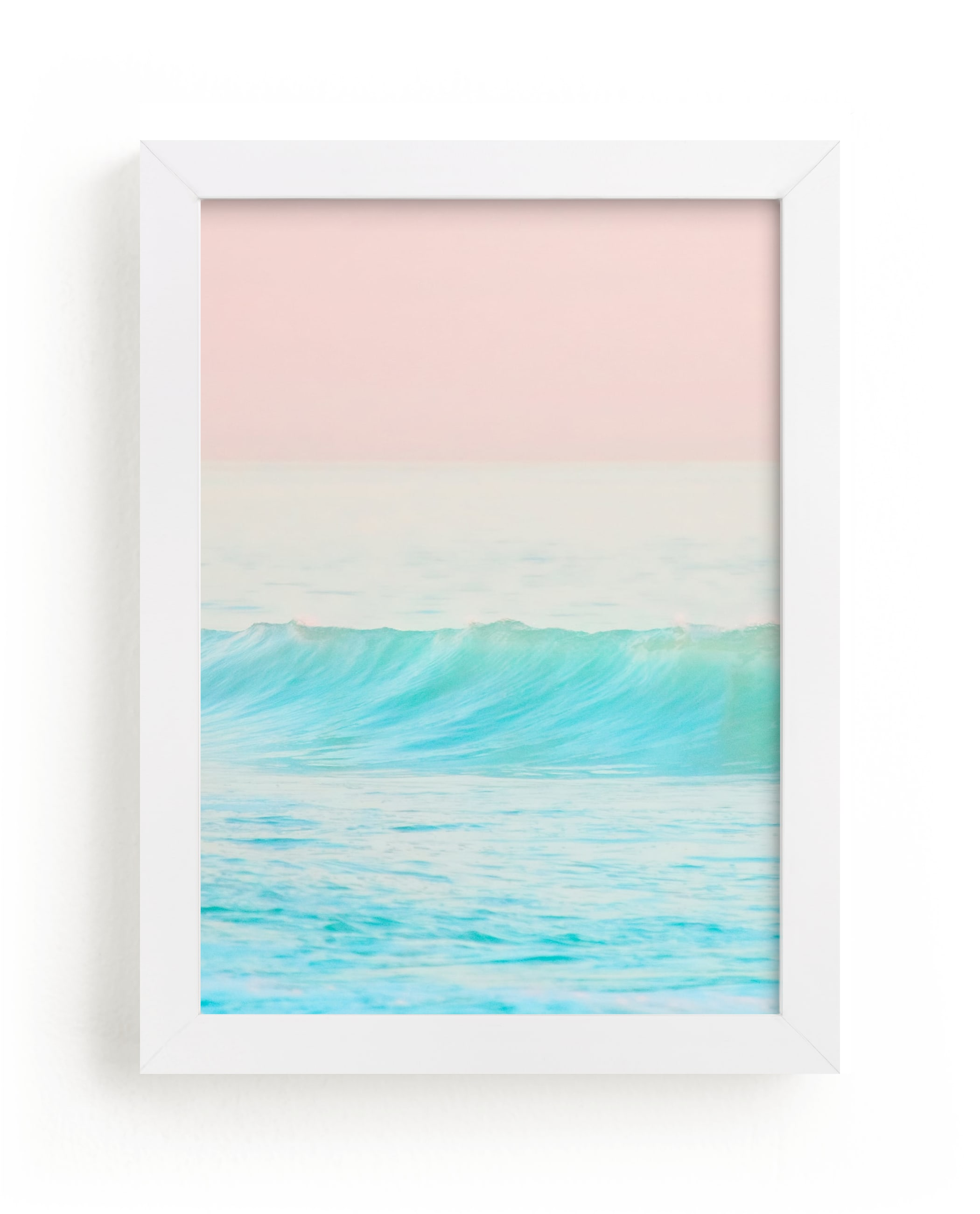 """Bubble Gum #1"" - Limited Edition Art Print by Jessica C. Nugent in beautiful frame options and a variety of sizes."