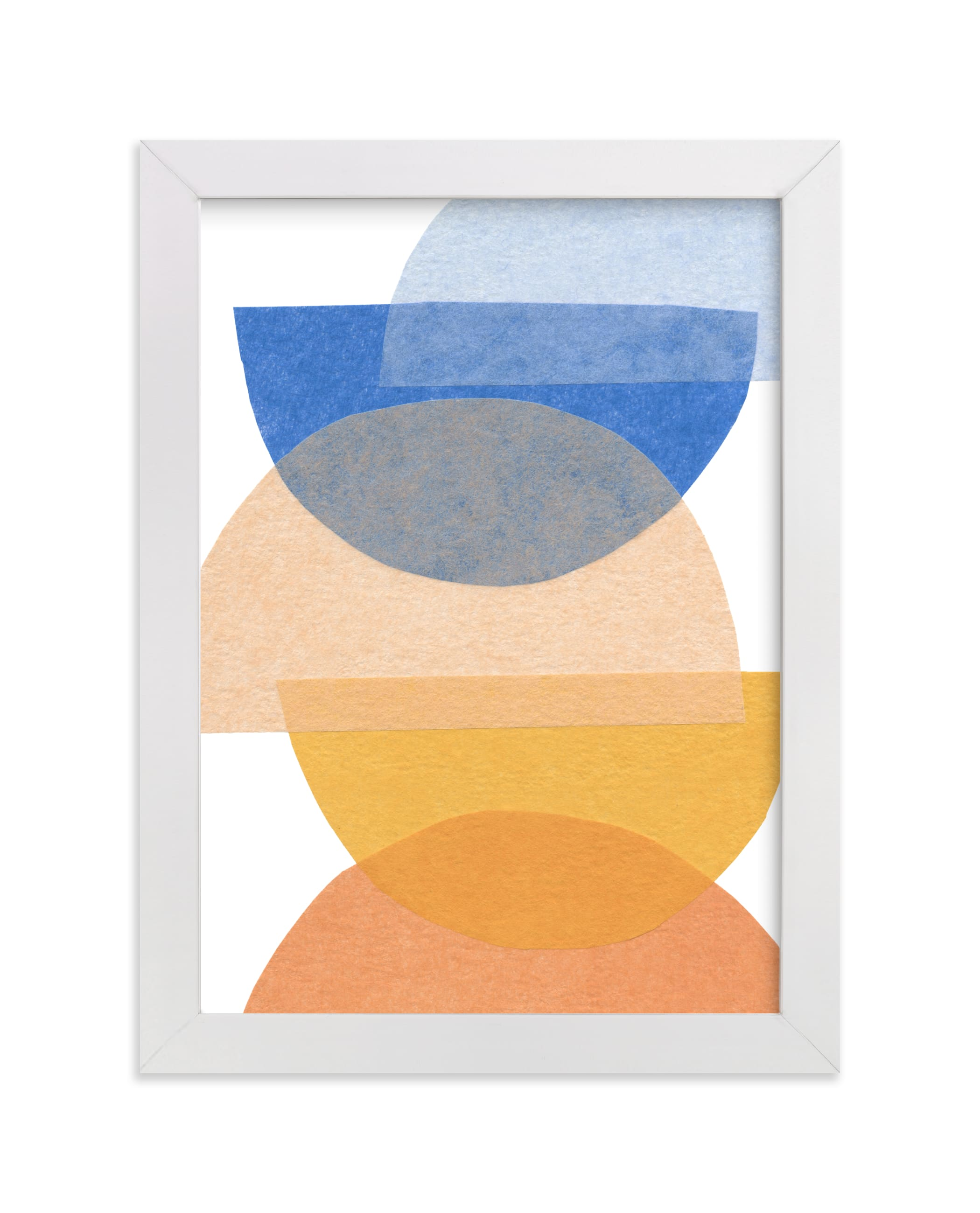 """""""mod moons"""" - Limited Edition Art Print by Carrie Moradi in beautiful frame options and a variety of sizes."""