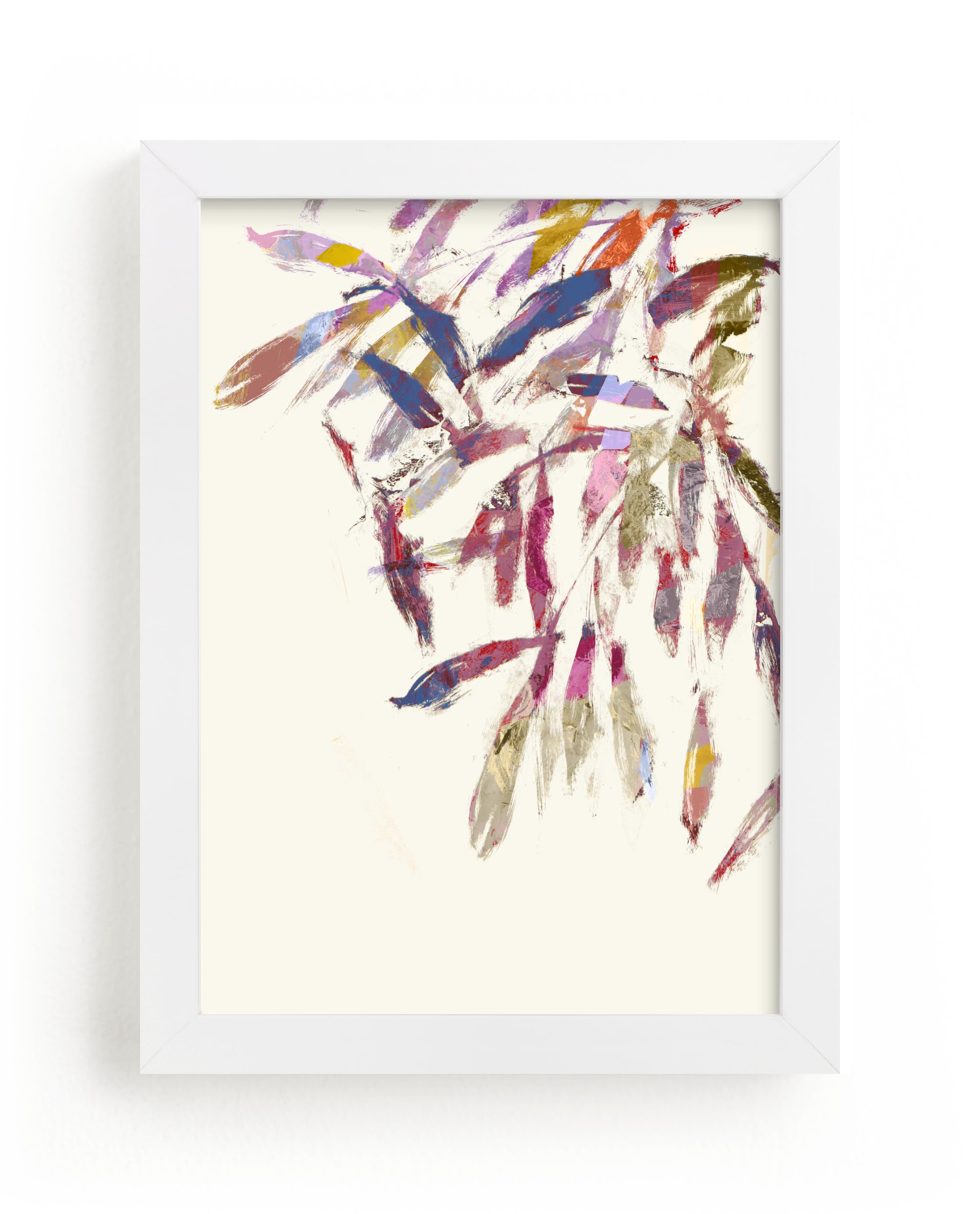 """""""Painted Foliage"""" - Limited Edition Art Print by Bethania Lima in beautiful frame options and a variety of sizes."""